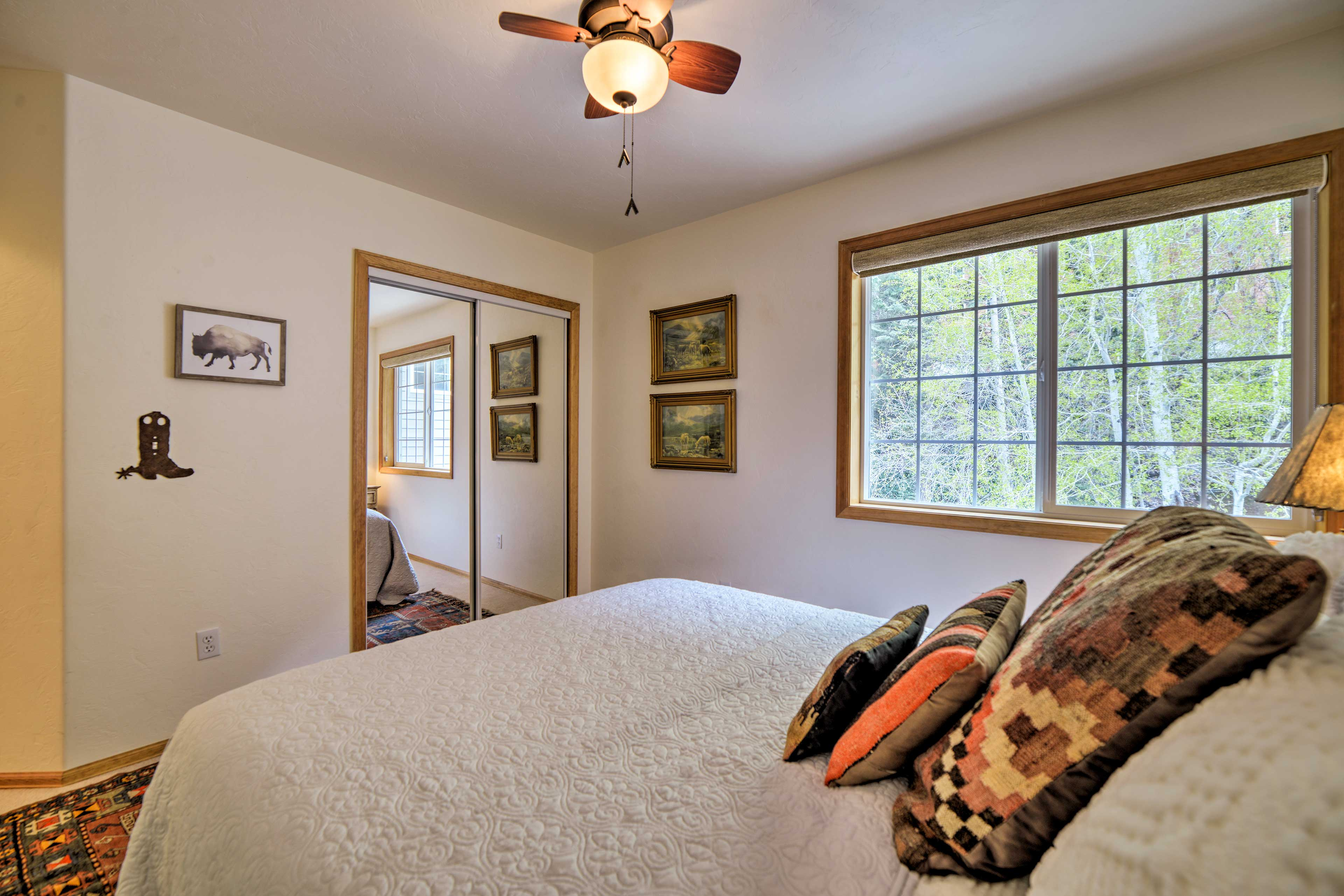 Open the window to let in the fresh mountain air!