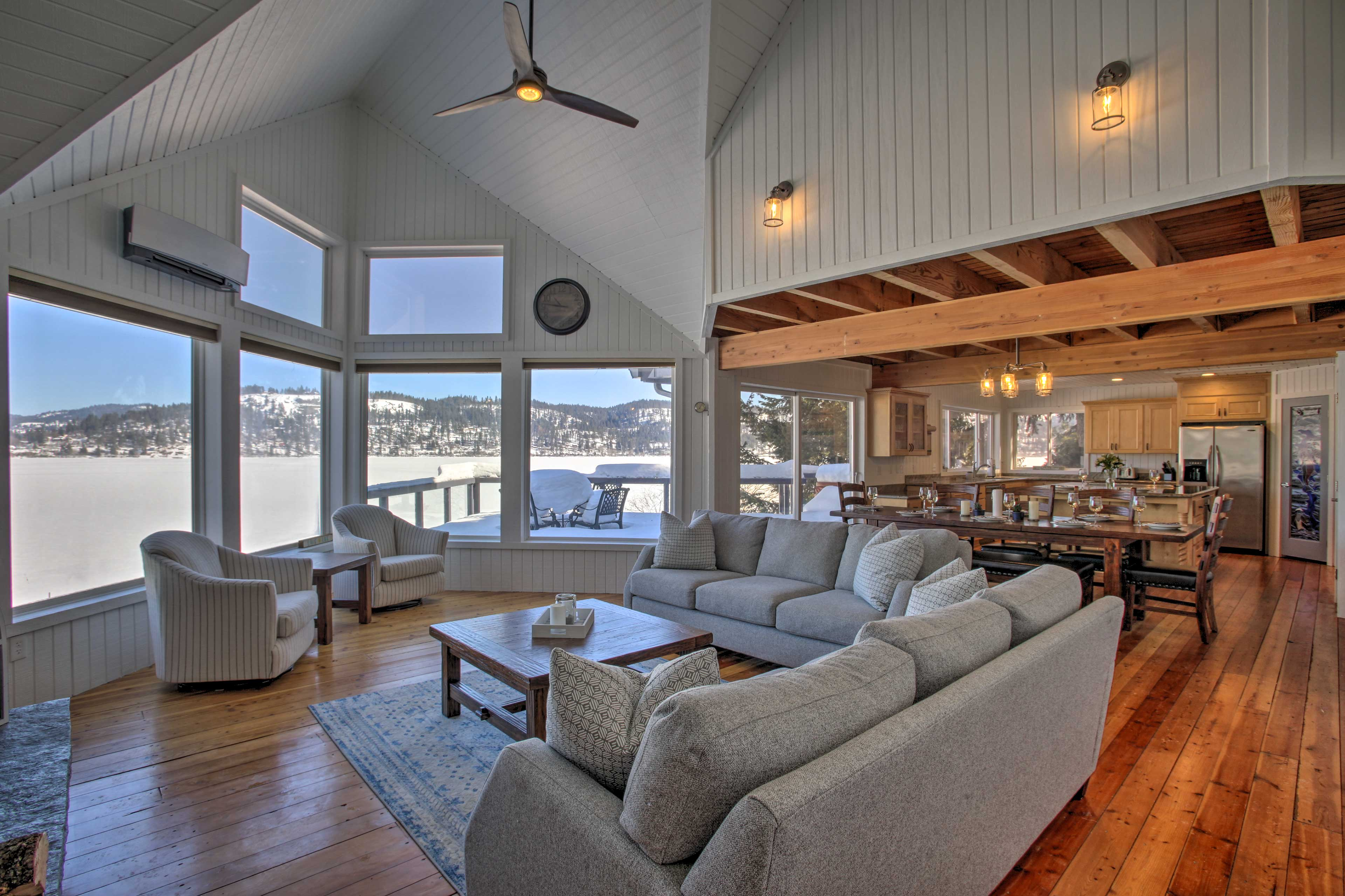 Recently remodeled, this 3,000-square-foot property is sure to impress.