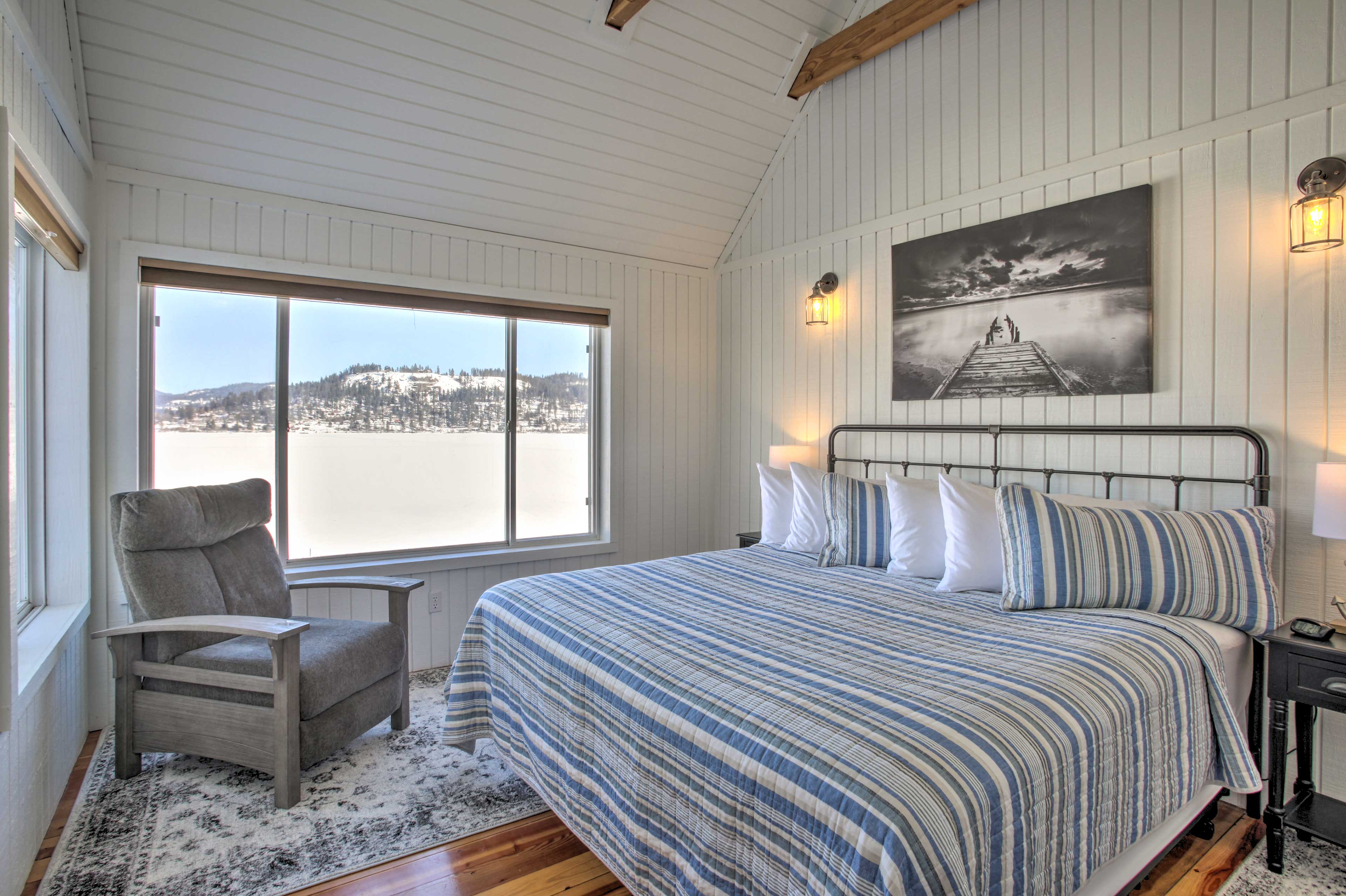 The house includes 5 well-appointed bedrooms.