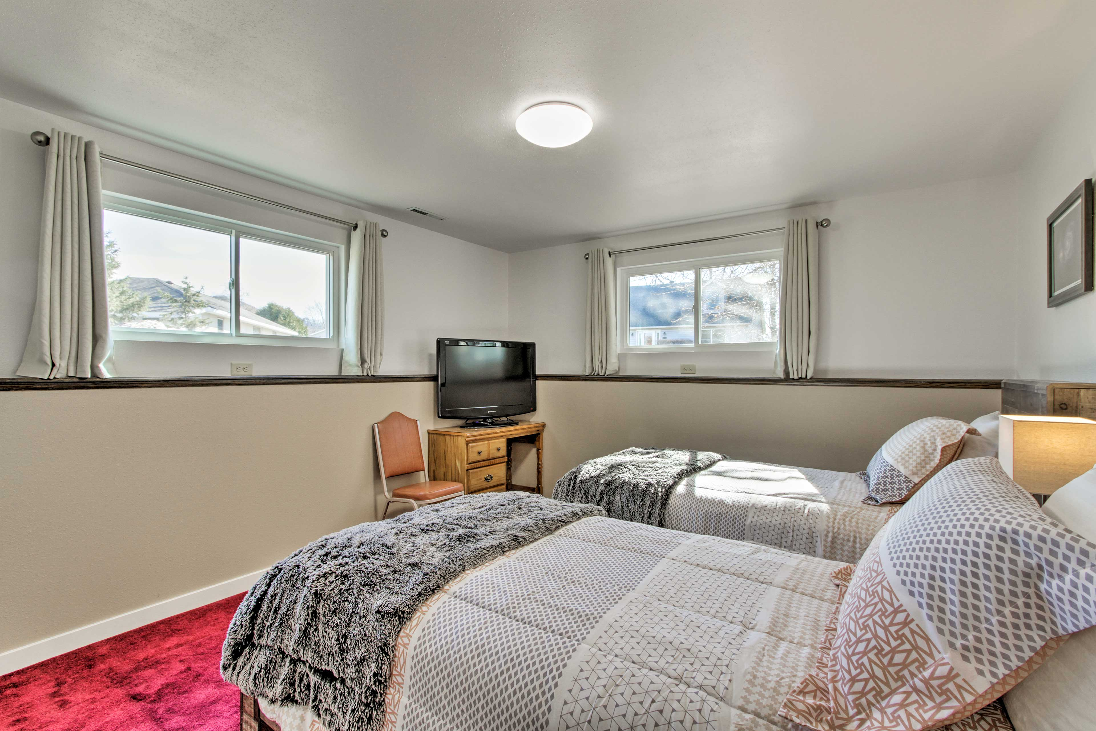 This room includes 2 twin beds - perfect for the kids.