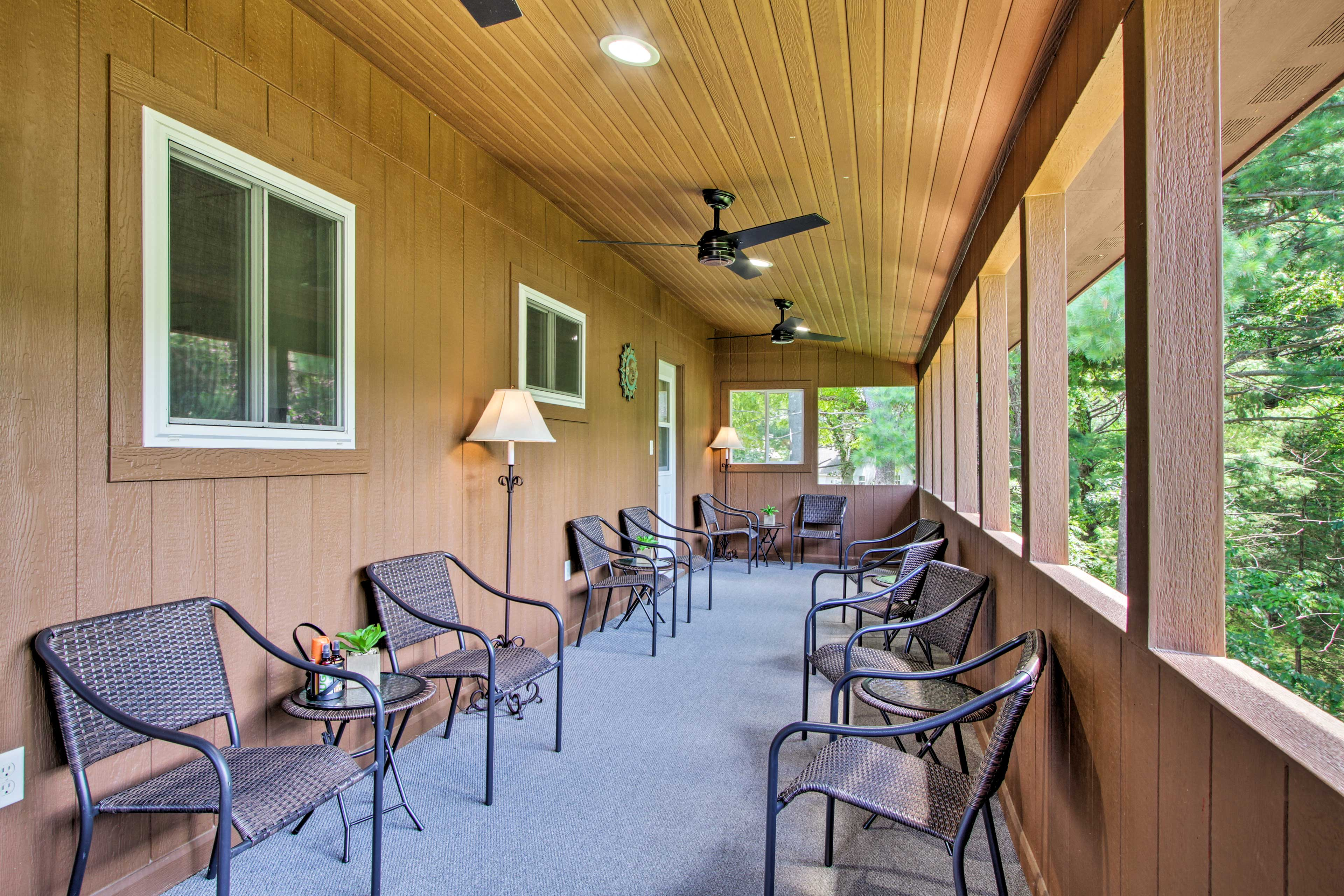 Step out to the sunroom and enjoy the river views!