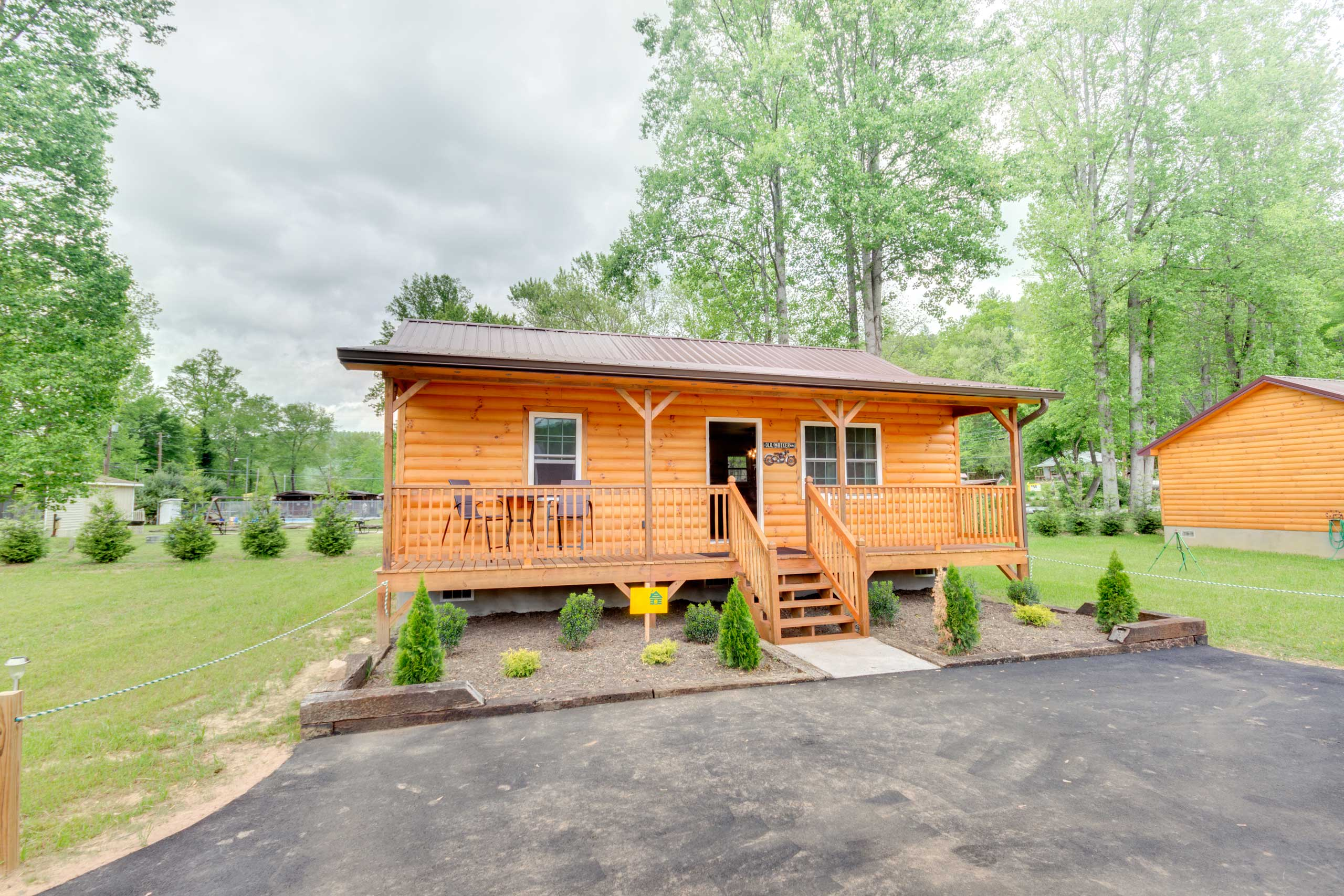 You'll be just 5 miles from downtown Bryson City!