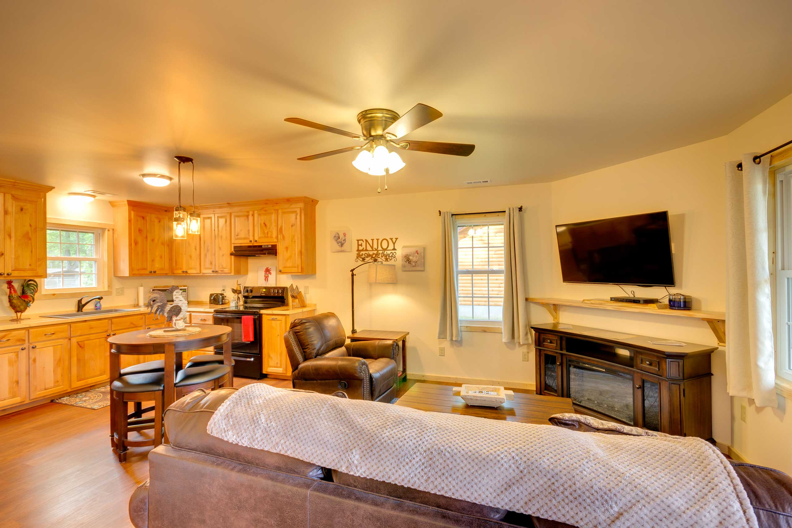 The best of Bryson City awaits minutes away from this vacation rental cabin!