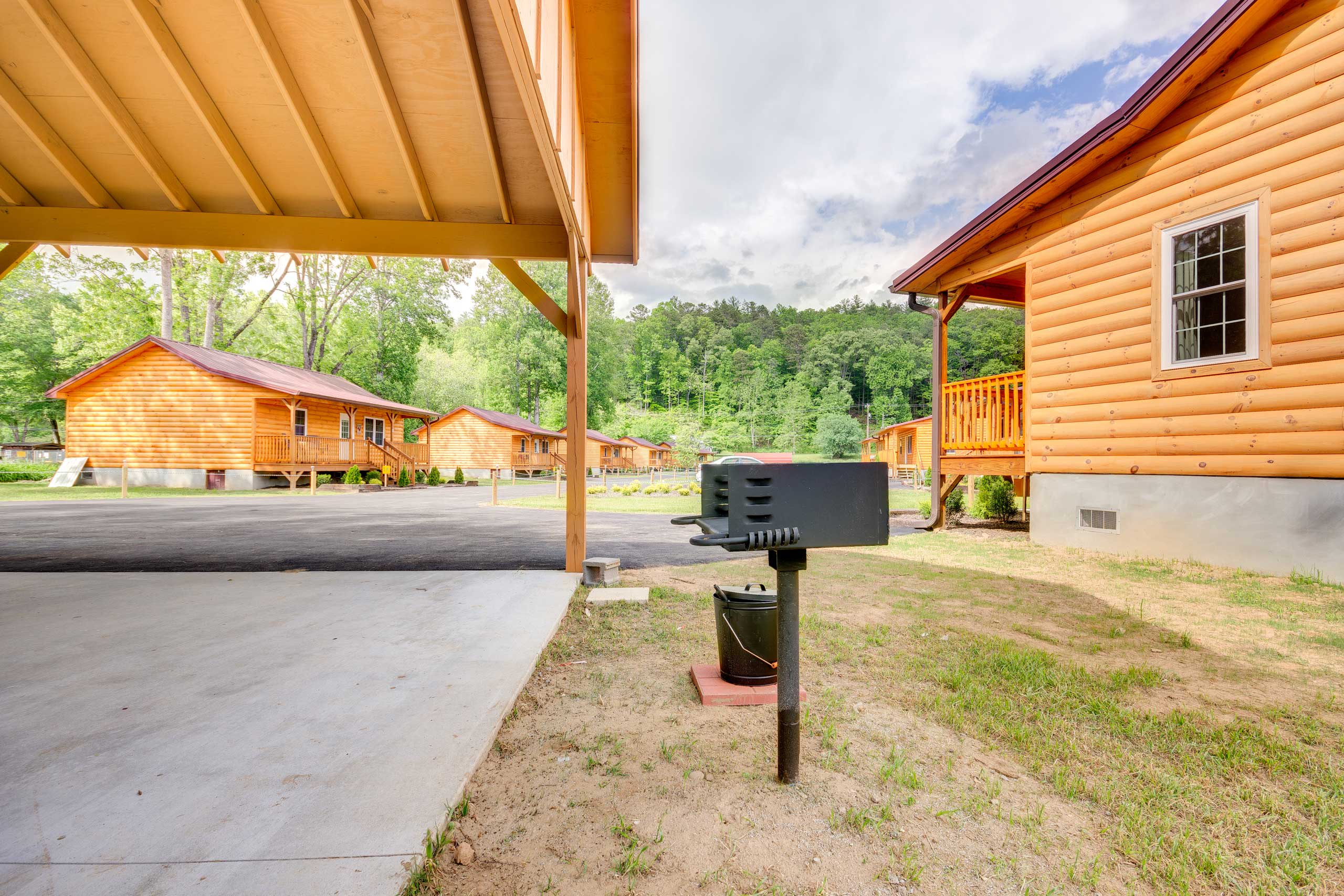 Host a cookout at the community picnic area.