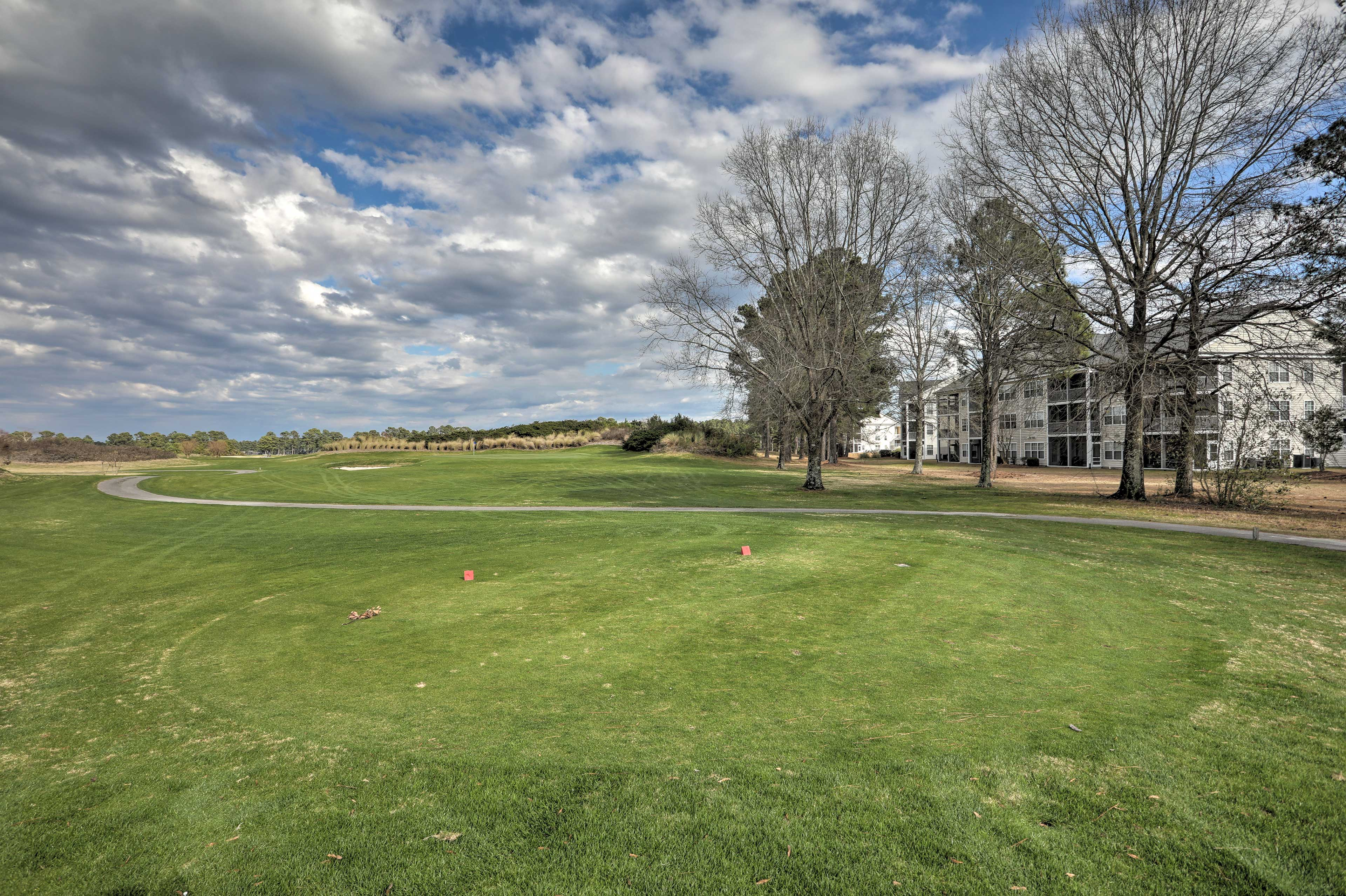 Enjoy a few rounds of golf.