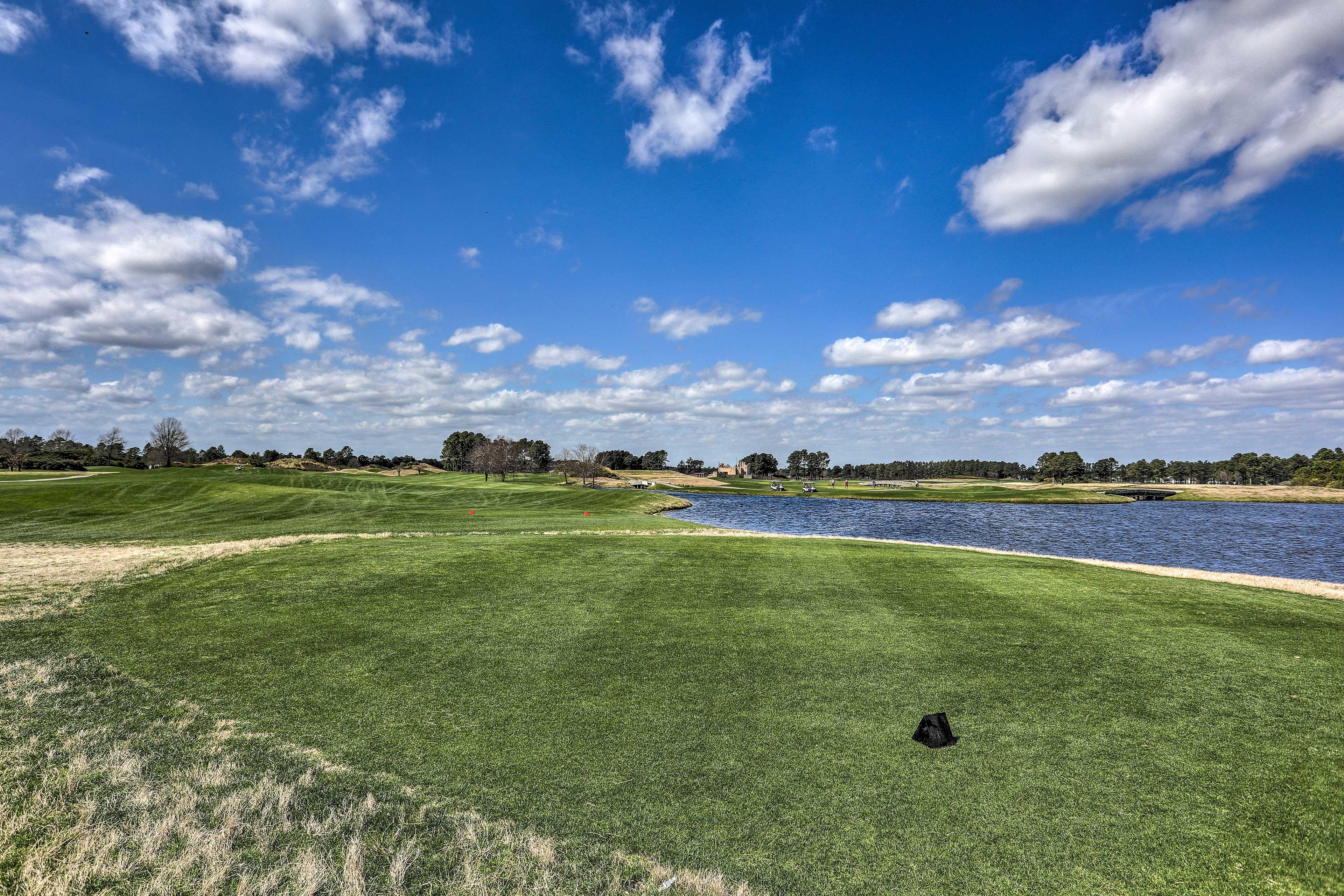 Enjoy days of golf at this vacation rental condo!