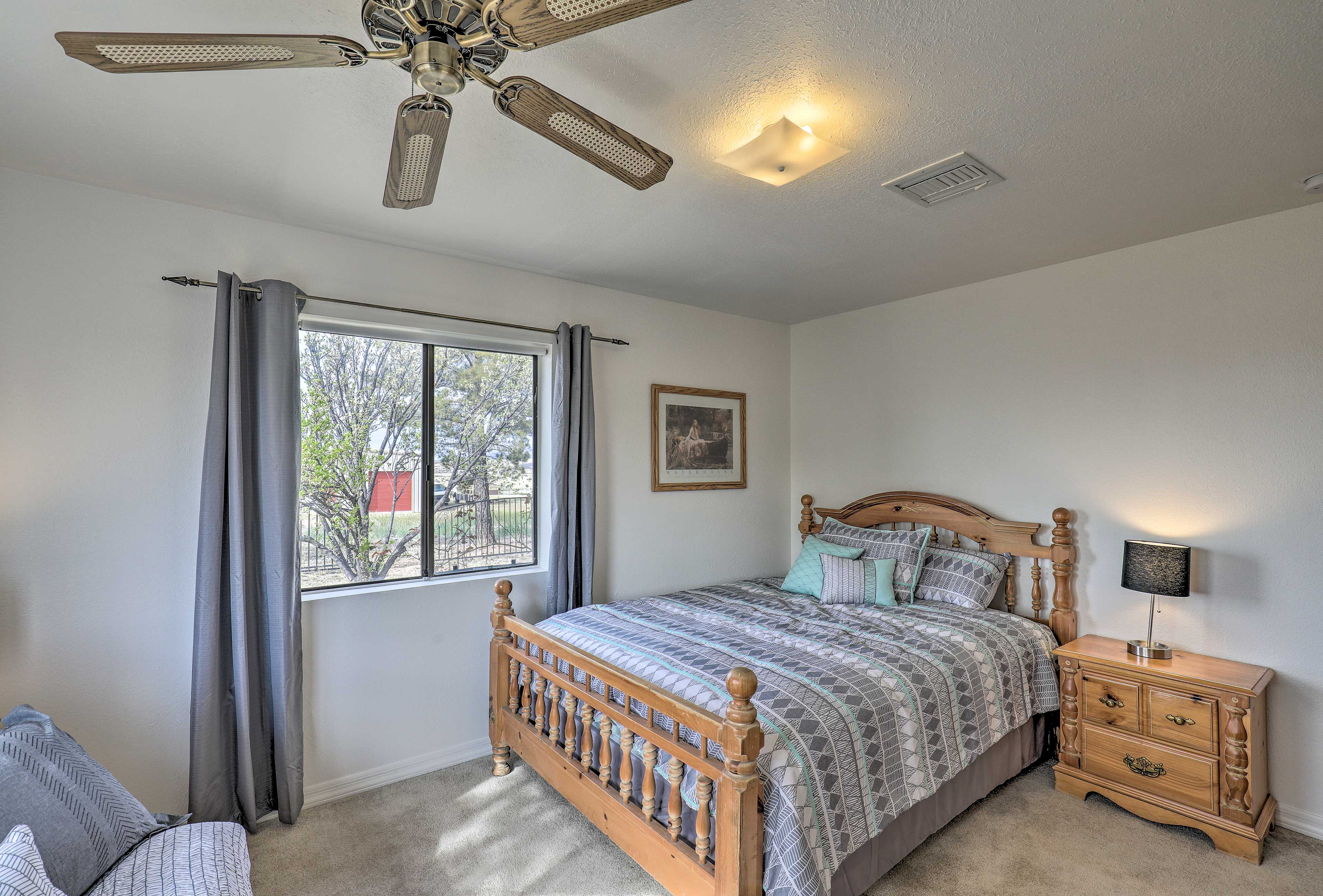 The house offers 3 bedrooms for guests to sleep in.