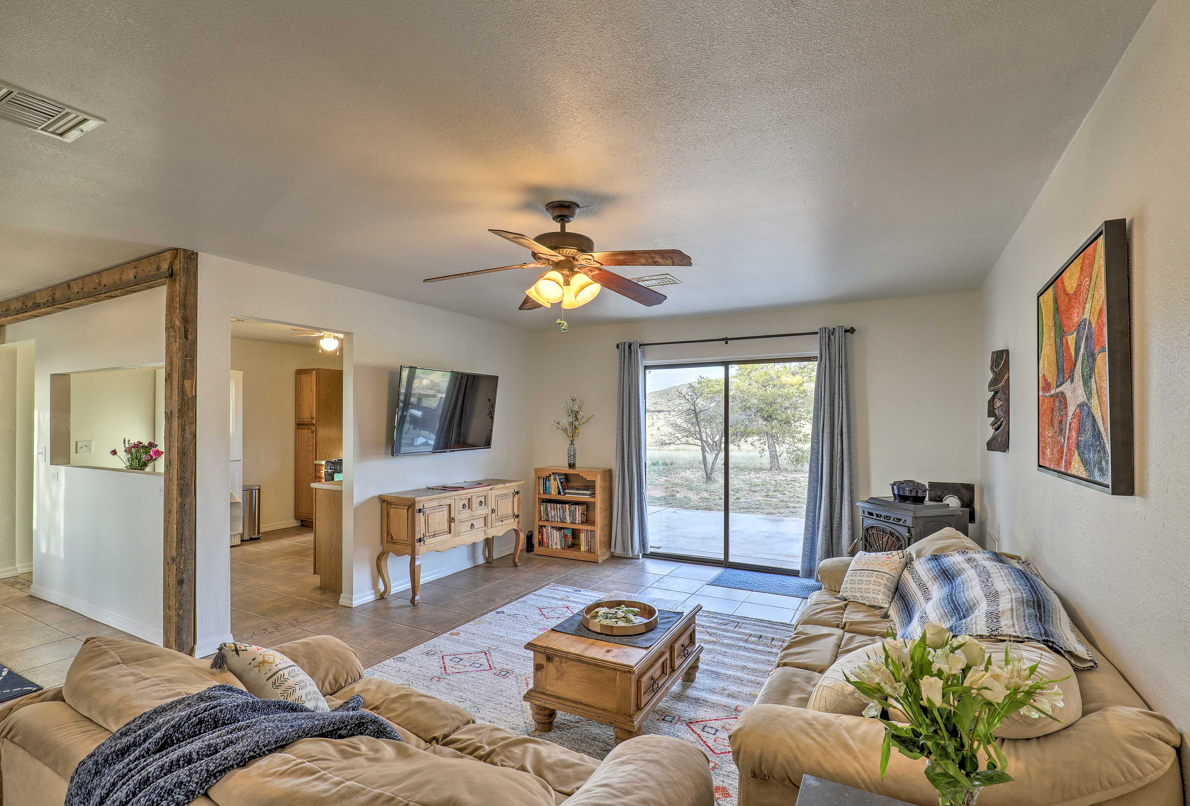 Escape to Elgin, Arizona and stay at this vacation rental house.