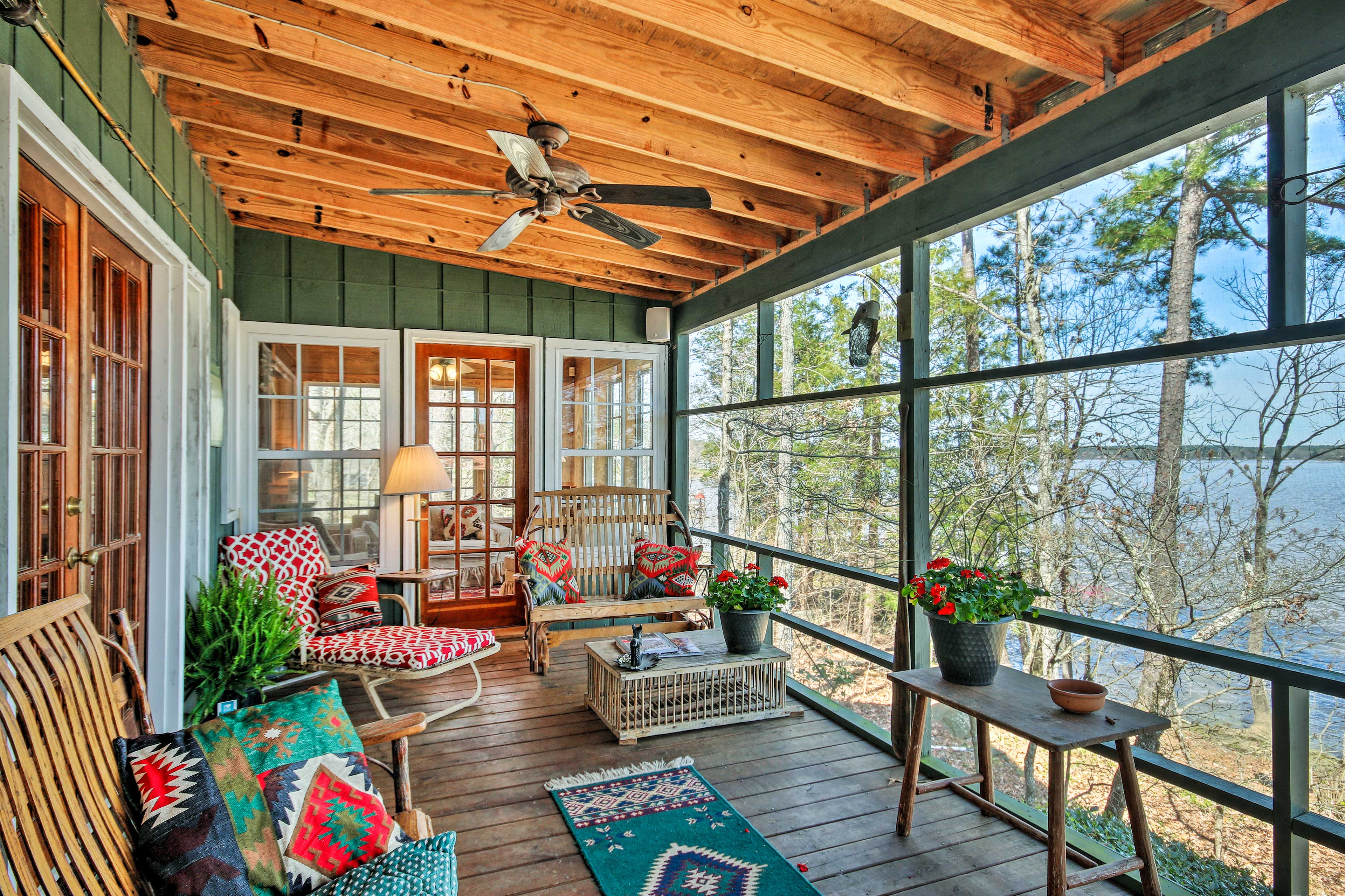 This Ridgeway, South Carolina home is the perfect escape!