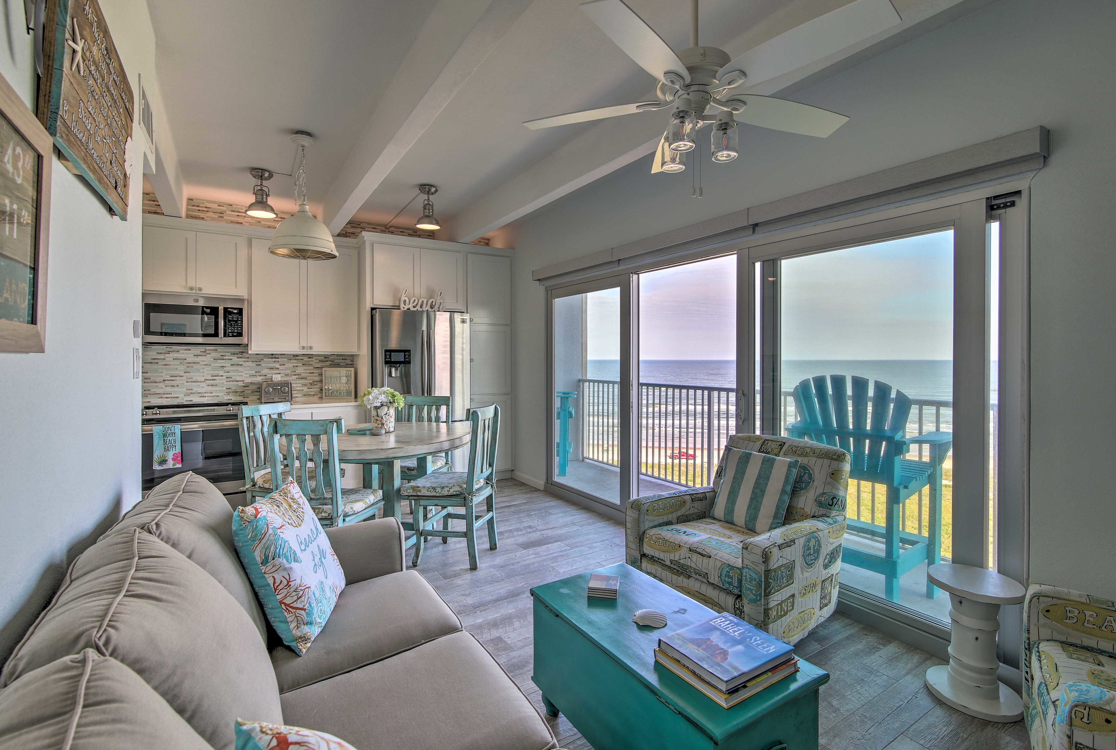 South Padre Island Vacation Rental | 2BR | 2BA | 664 Sq Ft | 7th Floor