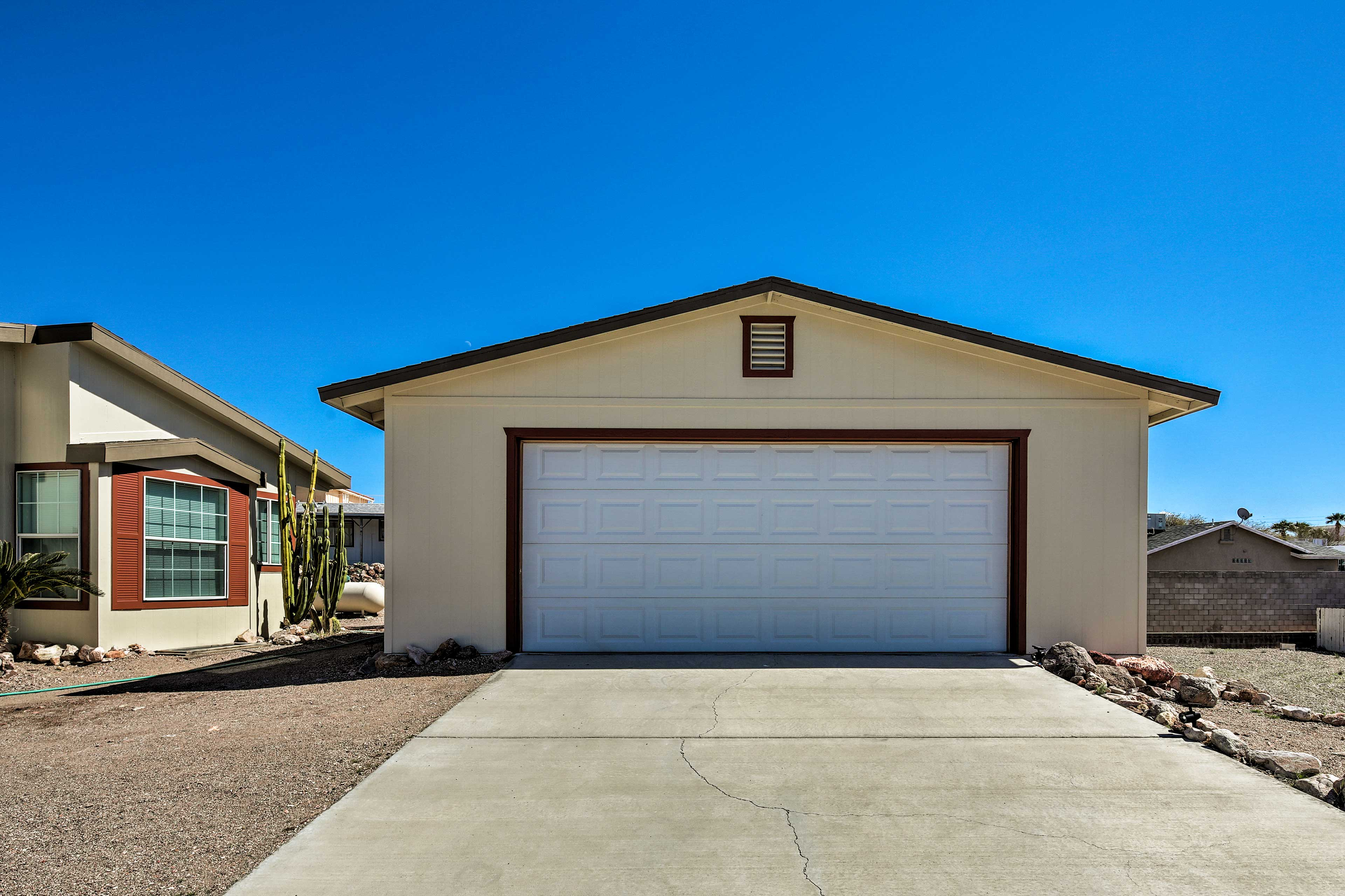 Property Exterior | RV/Trailer Parking Available