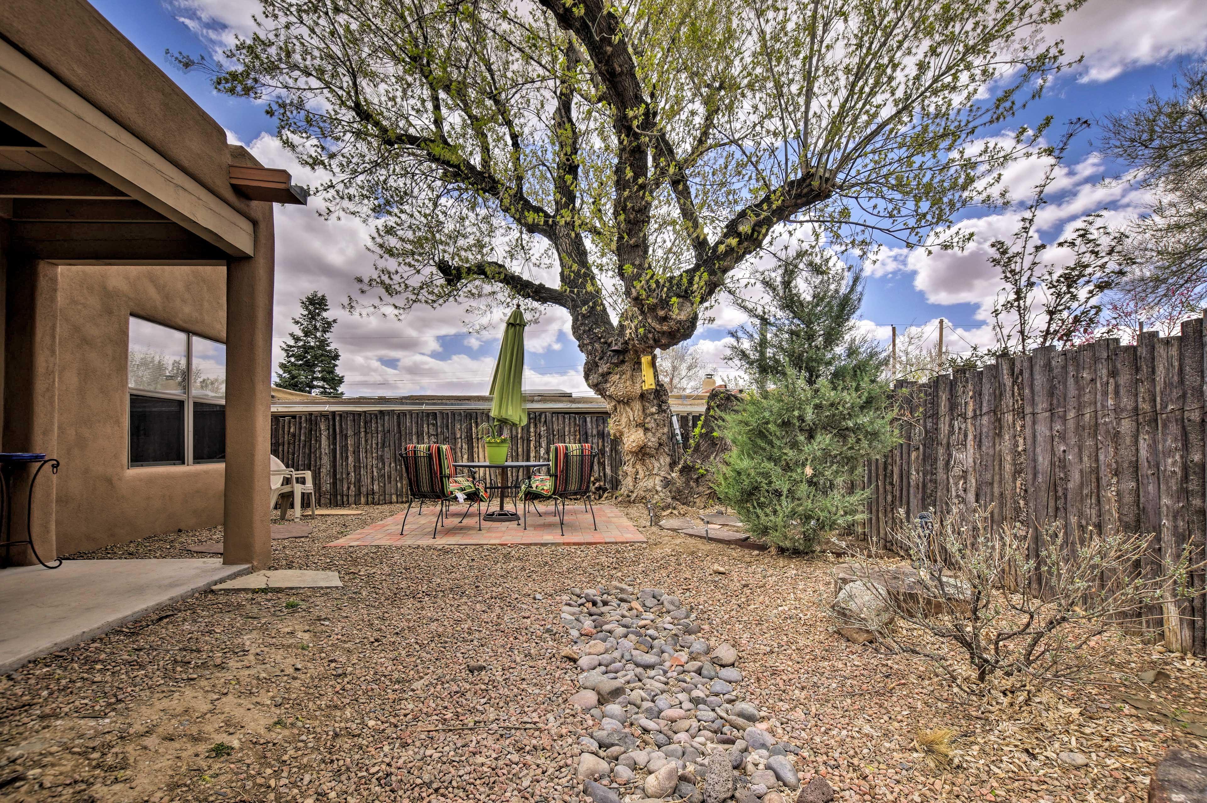 Spend the day in the Santa Fe Plaza or venture to Albuquerque, Taos or Abiquiu.