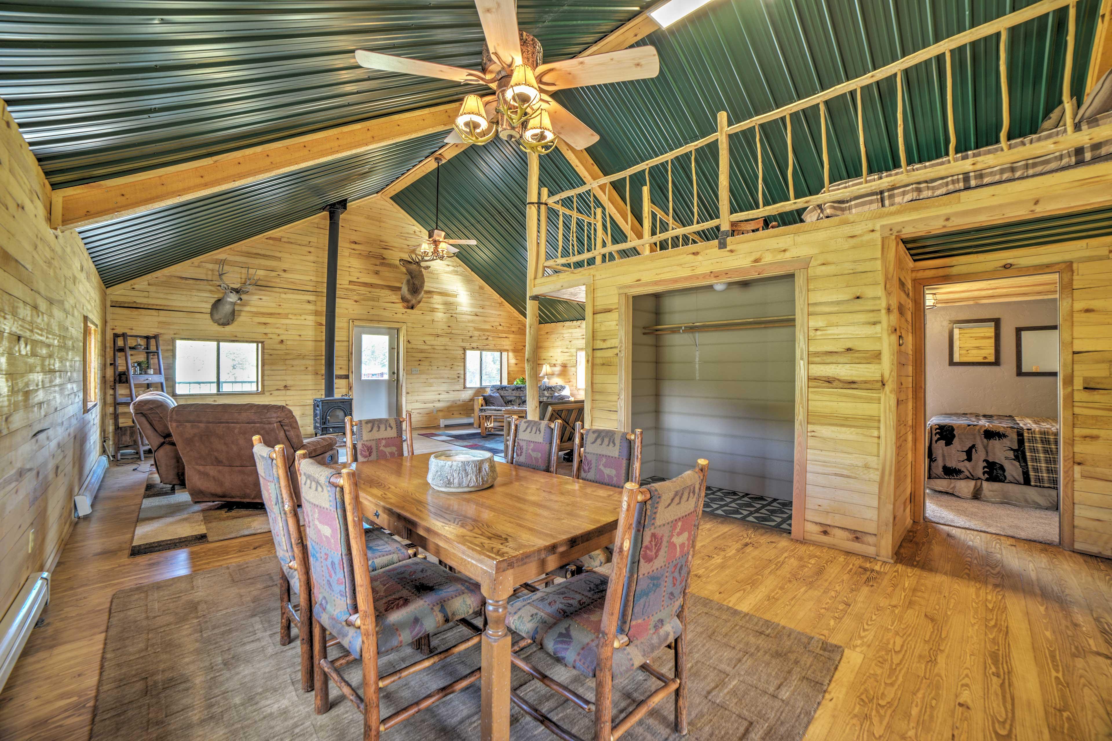 Living Room | Loft | 2 Ceiling Fans | Ample Closet Space