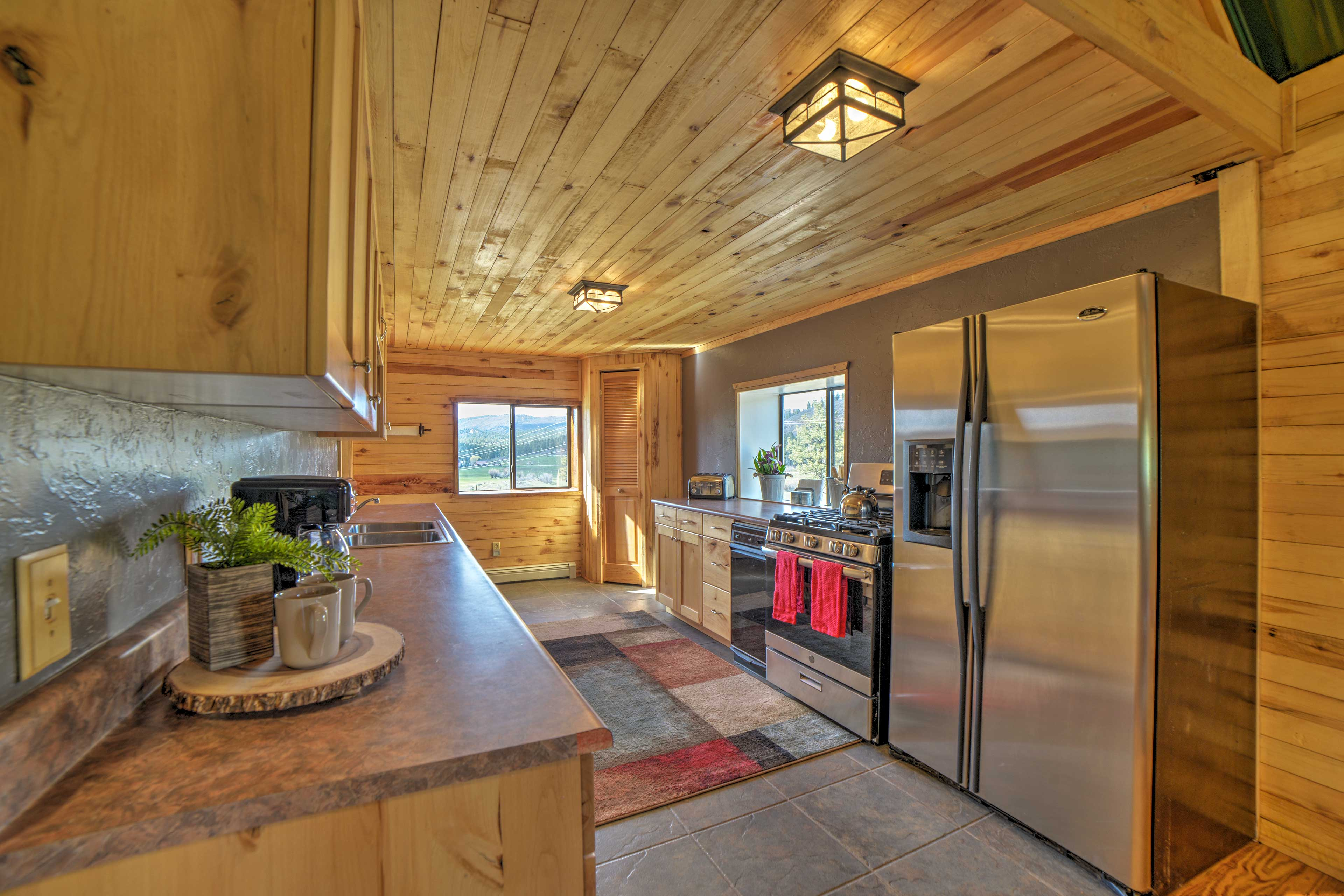 Fully Equipped Kitchen | Stainless Steel Appliances | Drip Coffee Maker