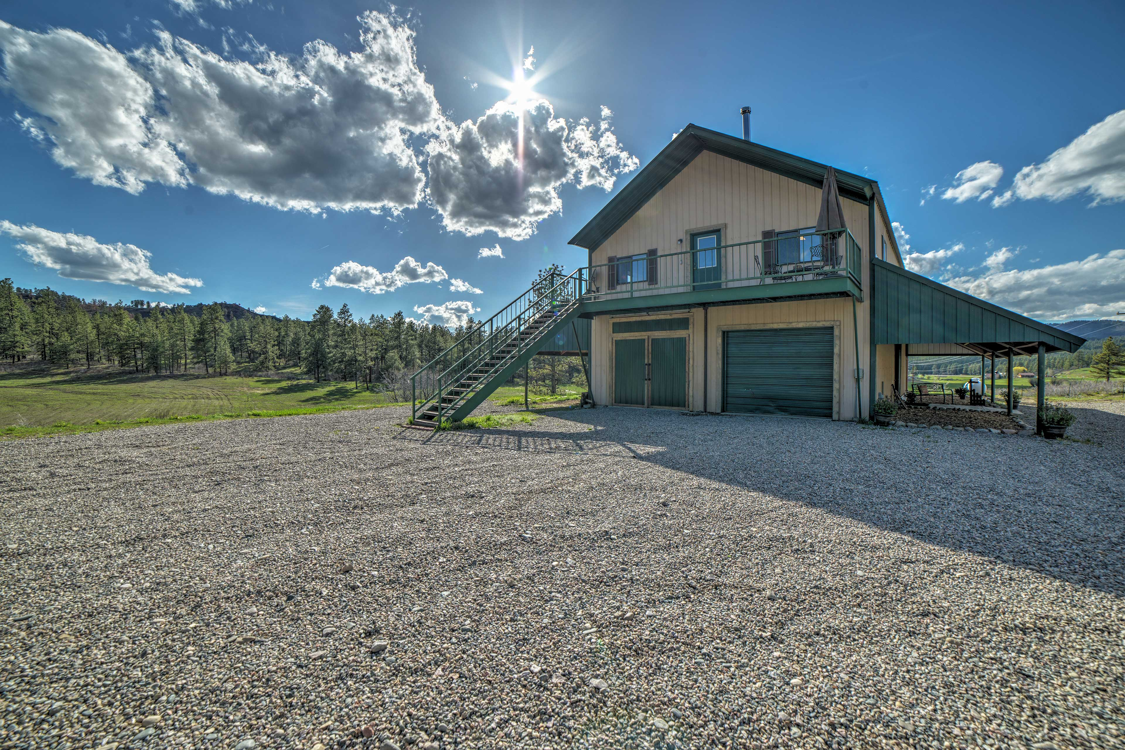 Exterior | Steps Required | Second-Story Balcony | Mountain Views