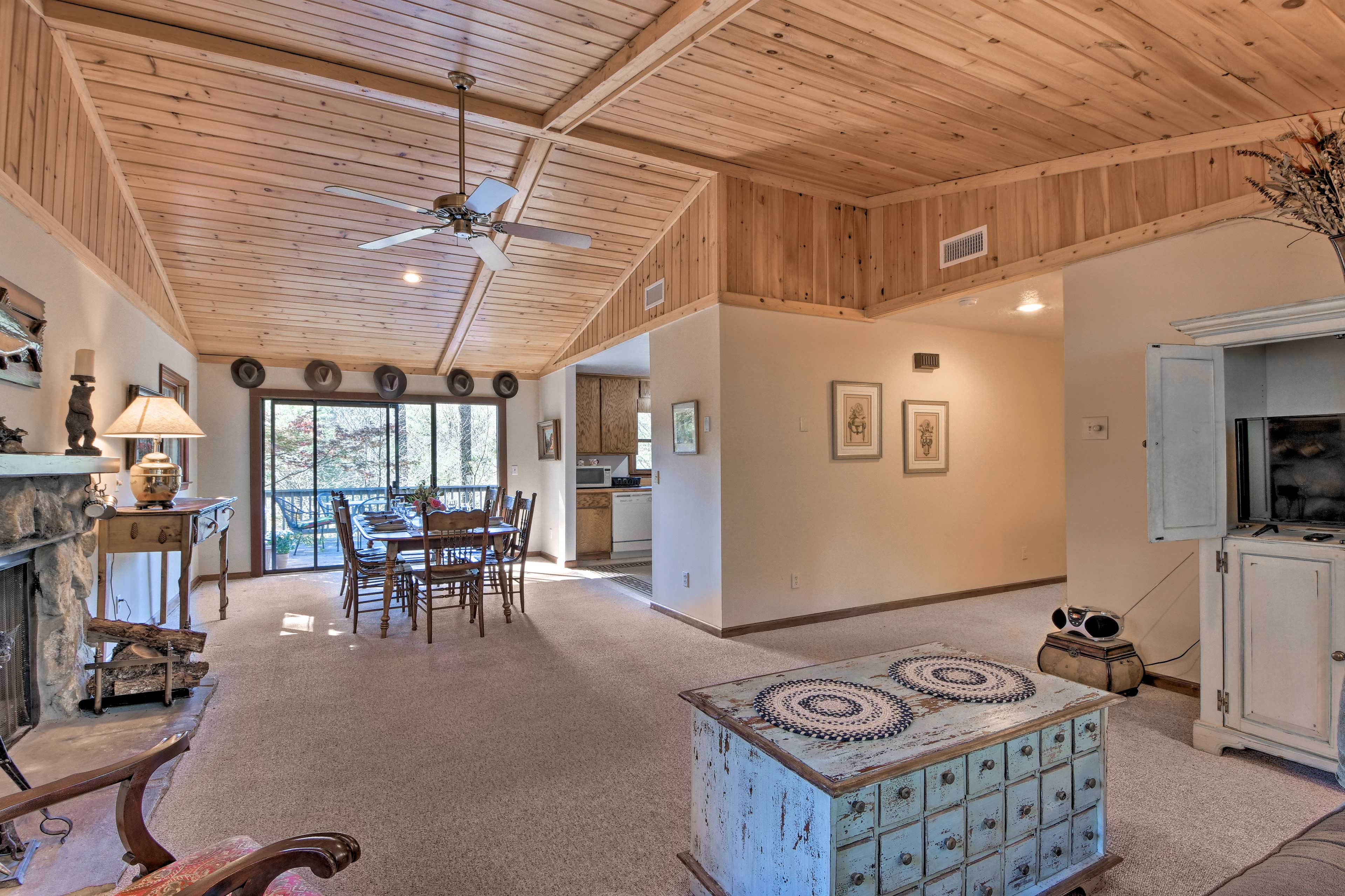 Inside, you'll find all of the comforts of home and a spacious layout.