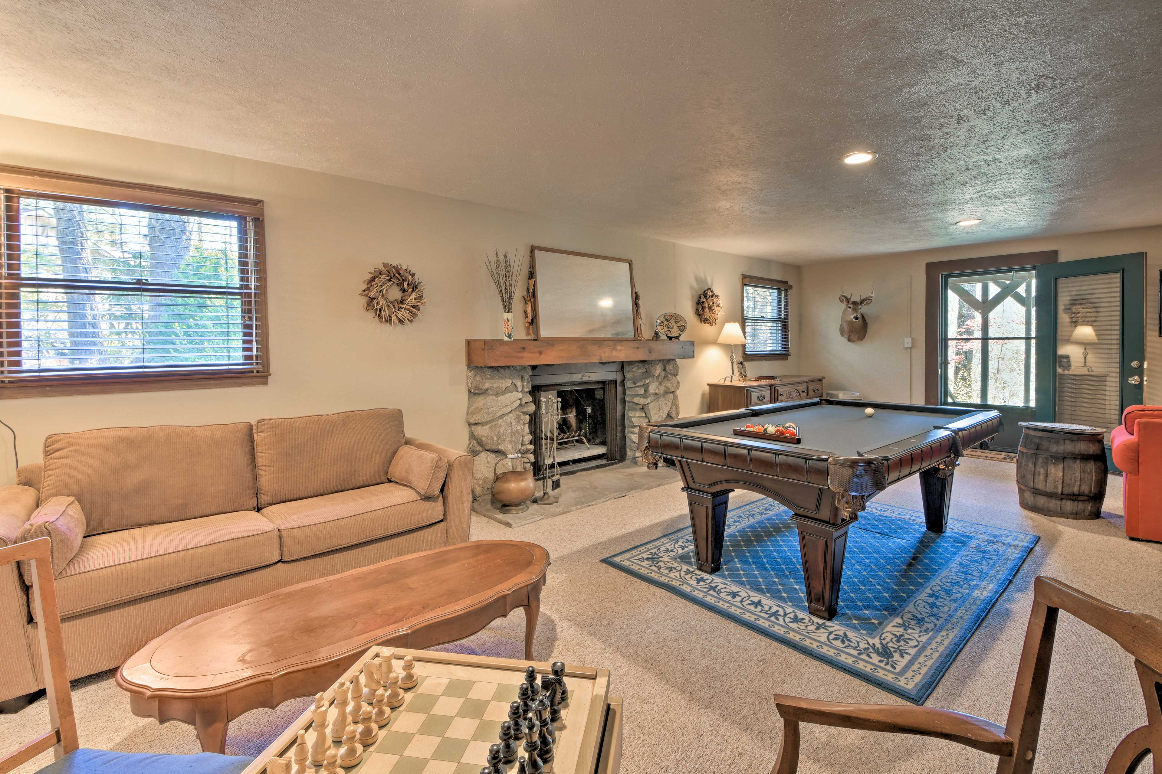 This 3-bed, 3-bath vacation rental is perfect for a family or group of friends.