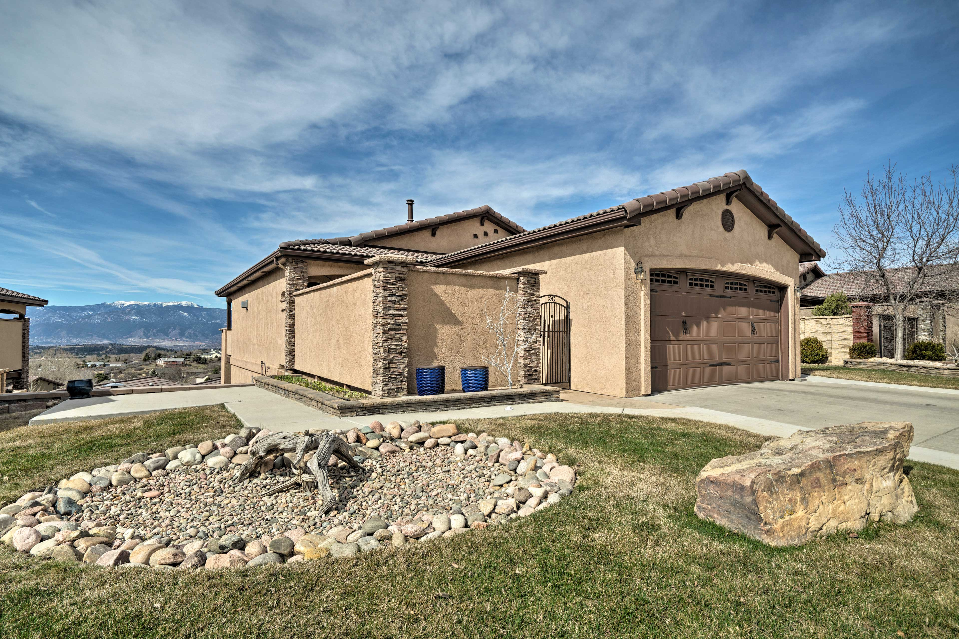 Discover Rocky Mountain bliss at this 4-bedroom, 3.5-bath Colorado Springs home!