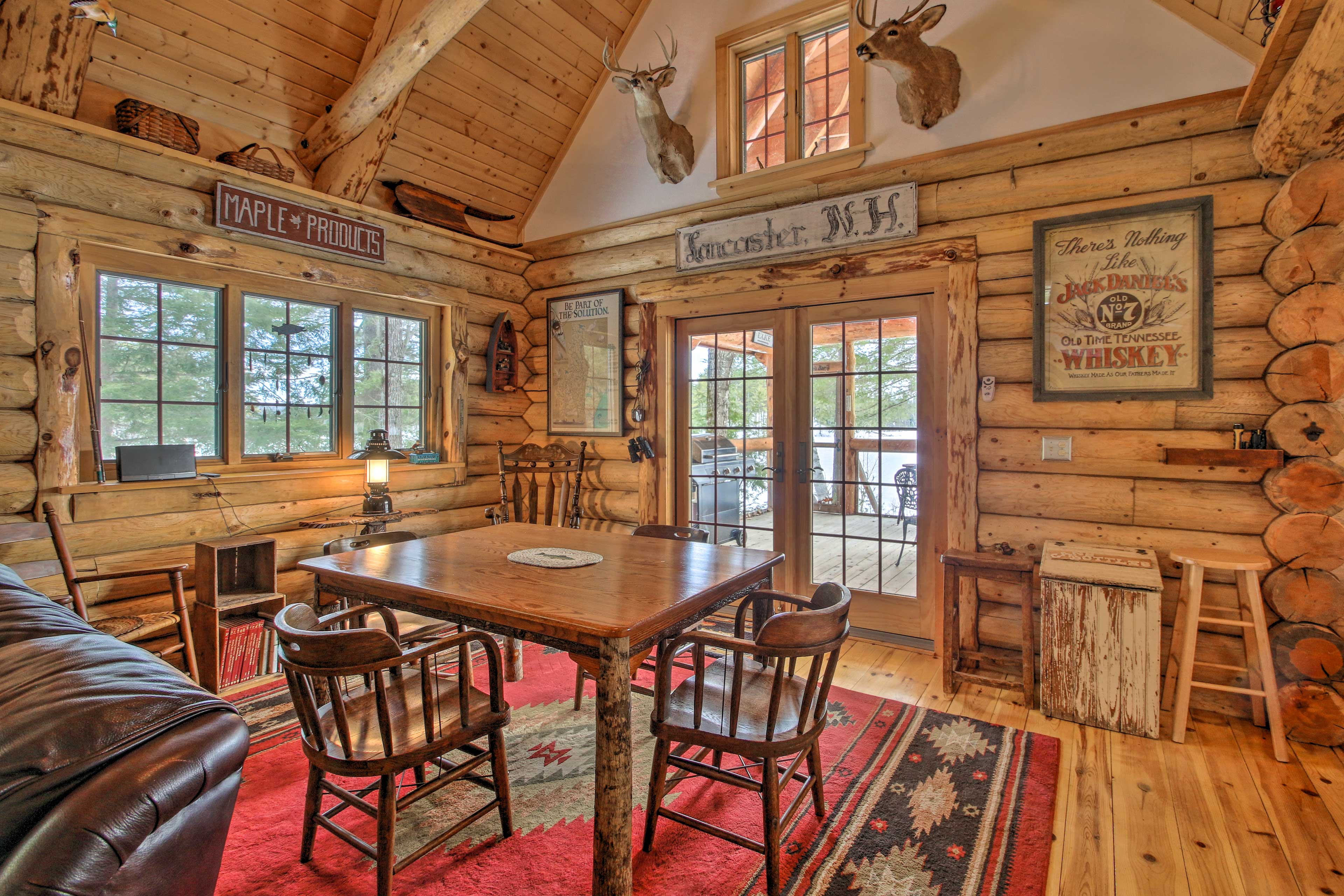 It's also the perfect place to enjoy board or card games!