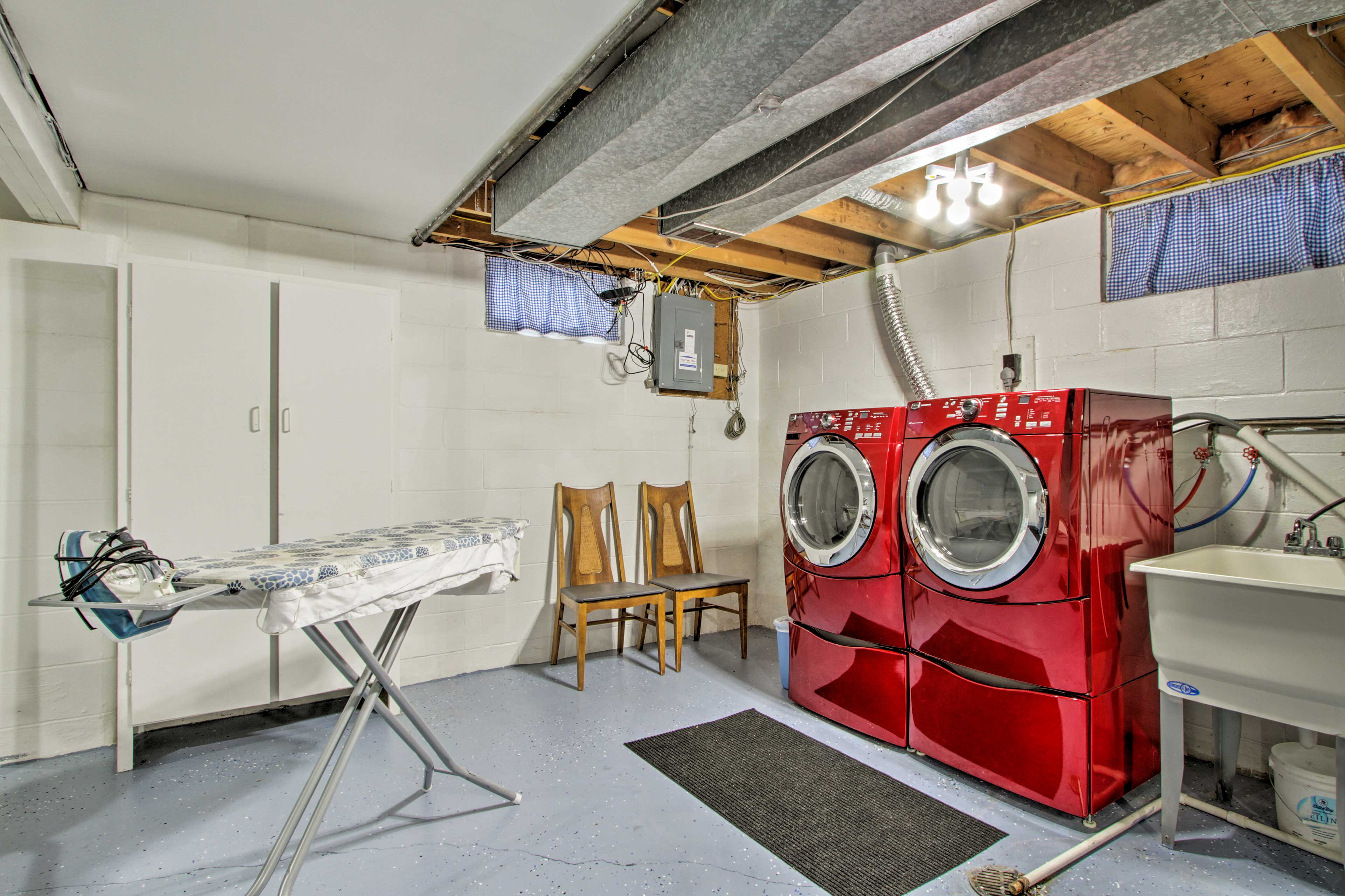 These efficient laundry machines keep your outfits fresh.
