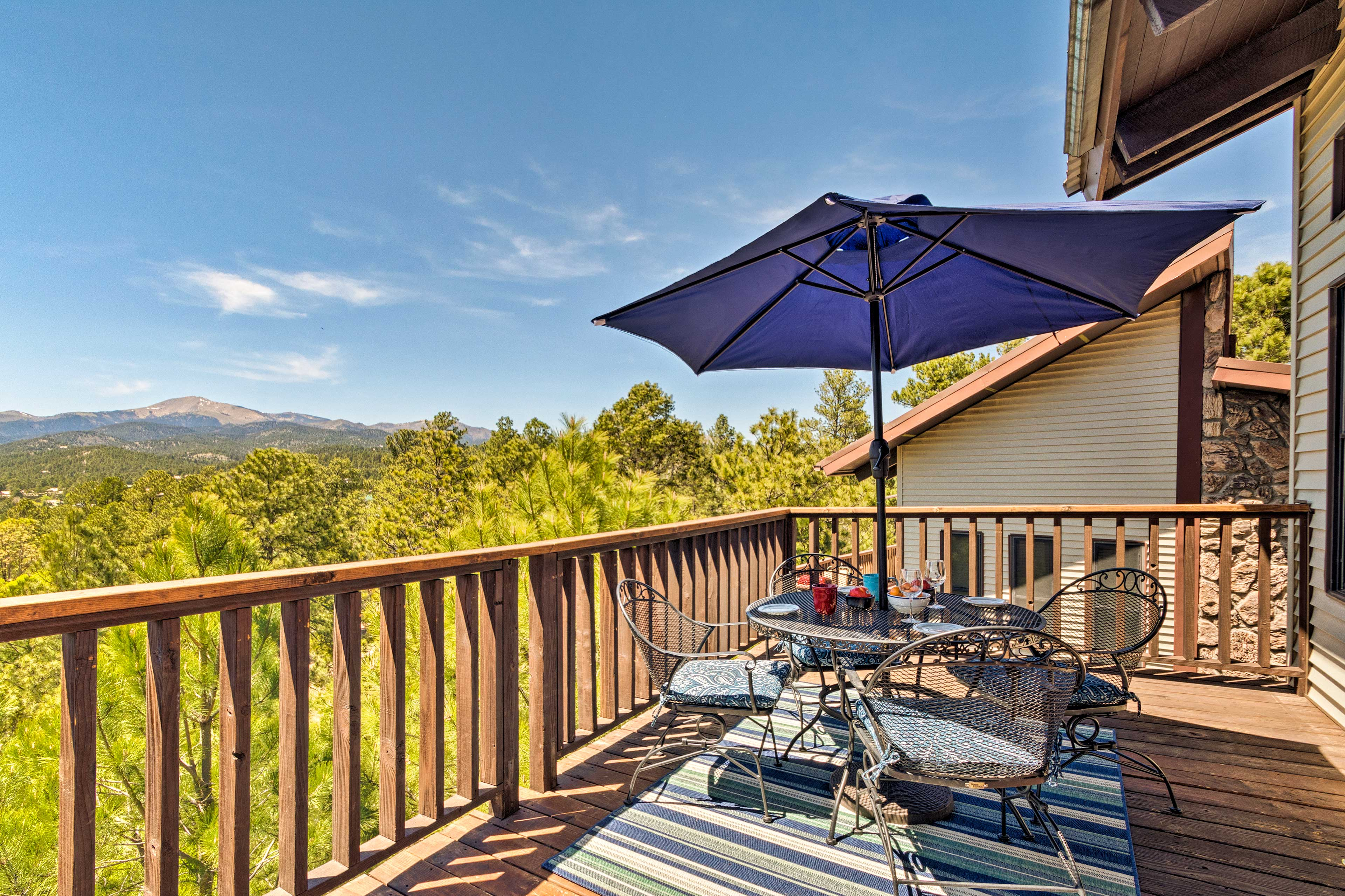 Private Balcony | Mountain Views | Outdoor Dining Table