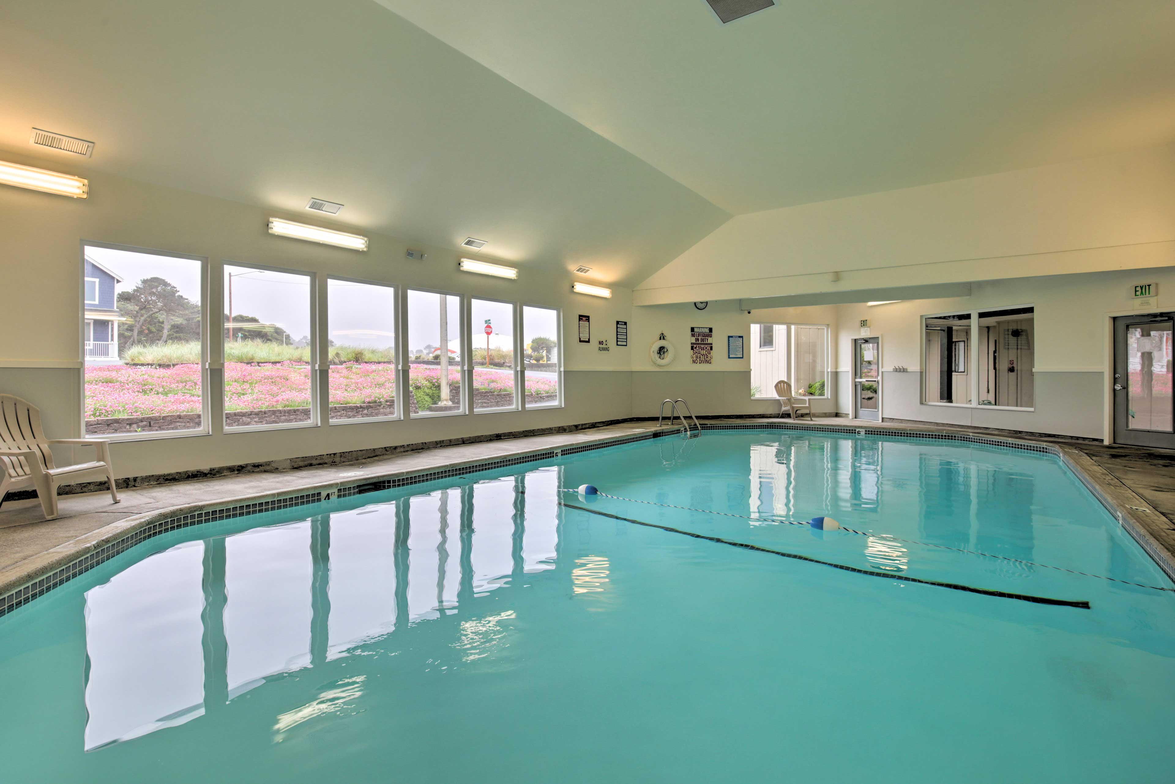 You'll also have access to the community pool, spa, game room & sports courts!