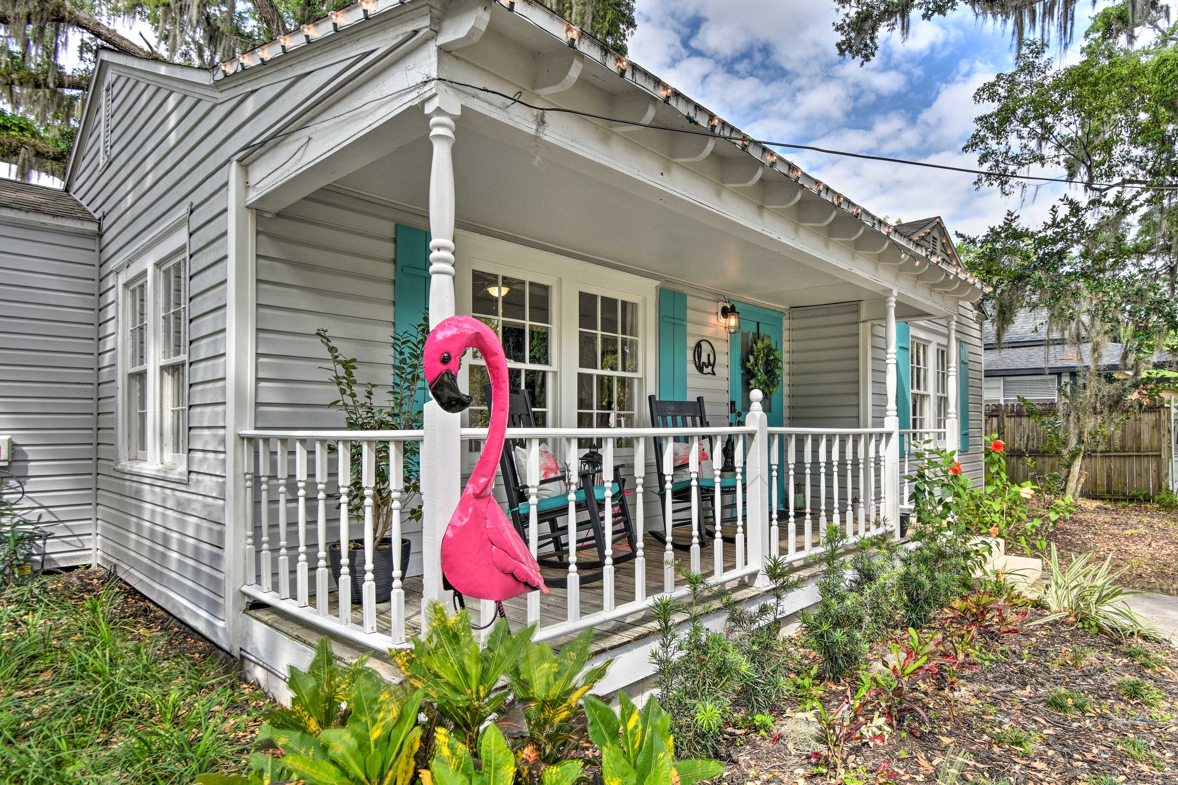 A memorable stay awaits you at this cozy cottage.