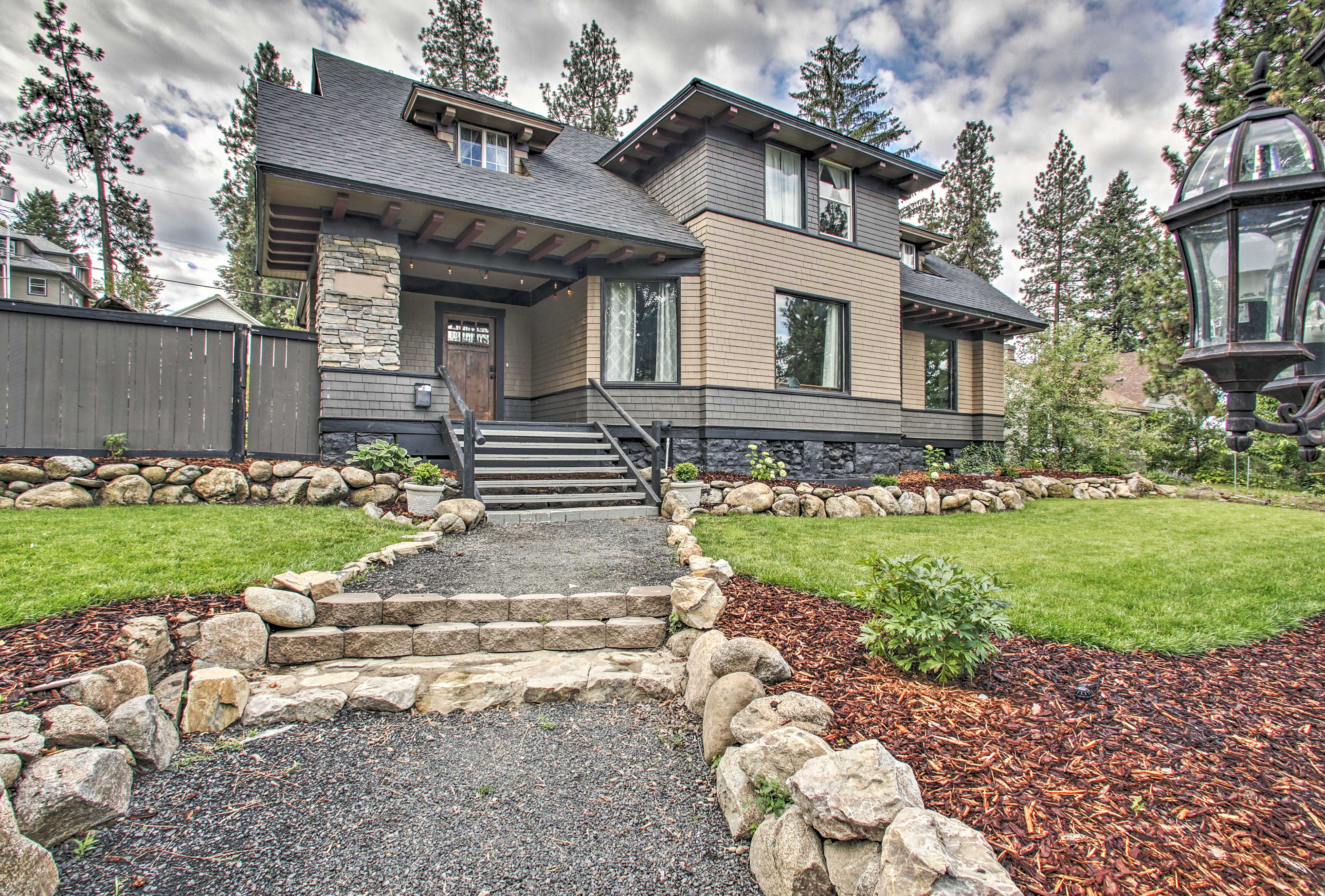 Find a one-of-a-kind vacation rental at this Spokane property!