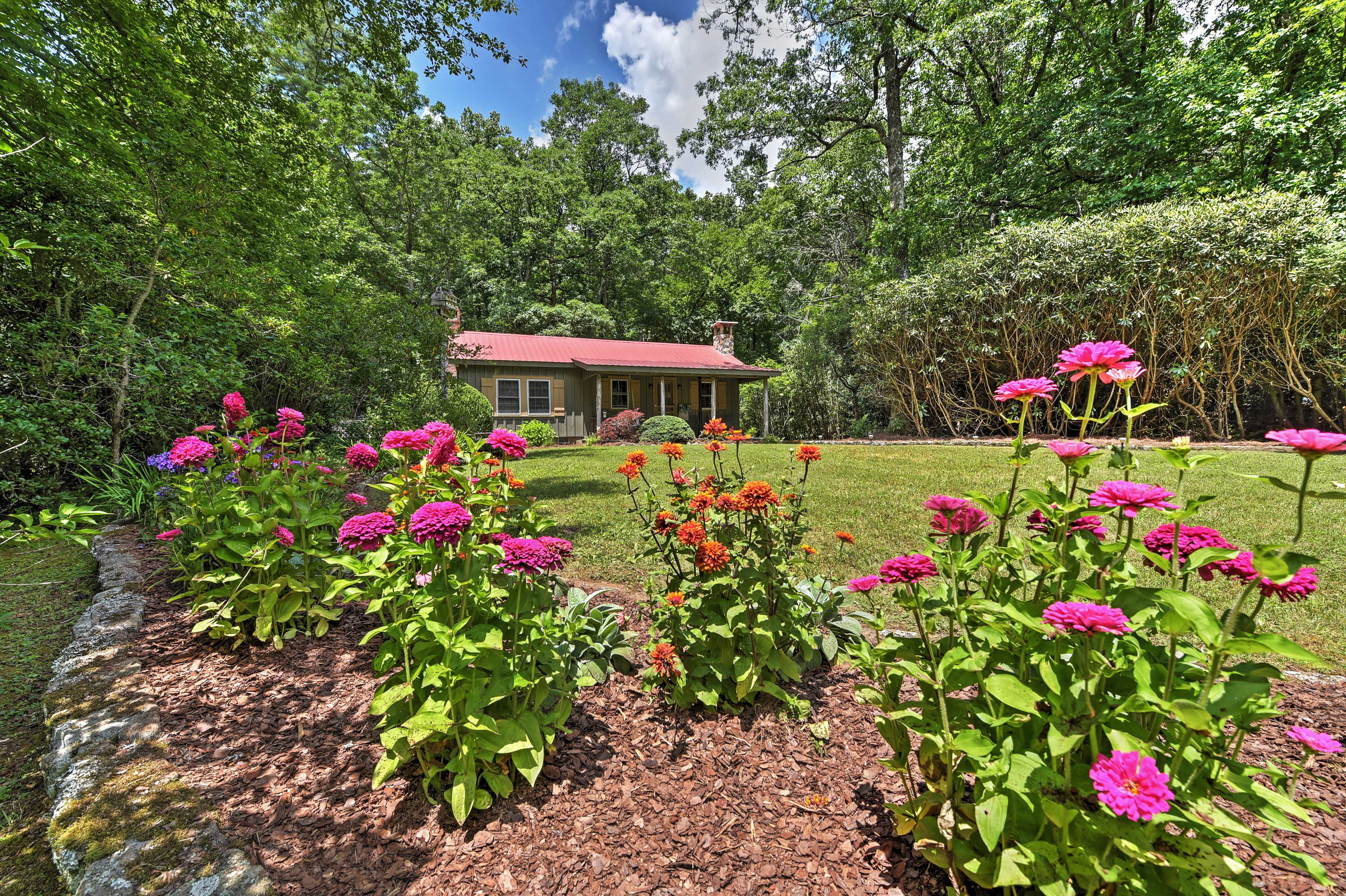 You'll never want to leave this magnificent cottage in Highlands, NC!