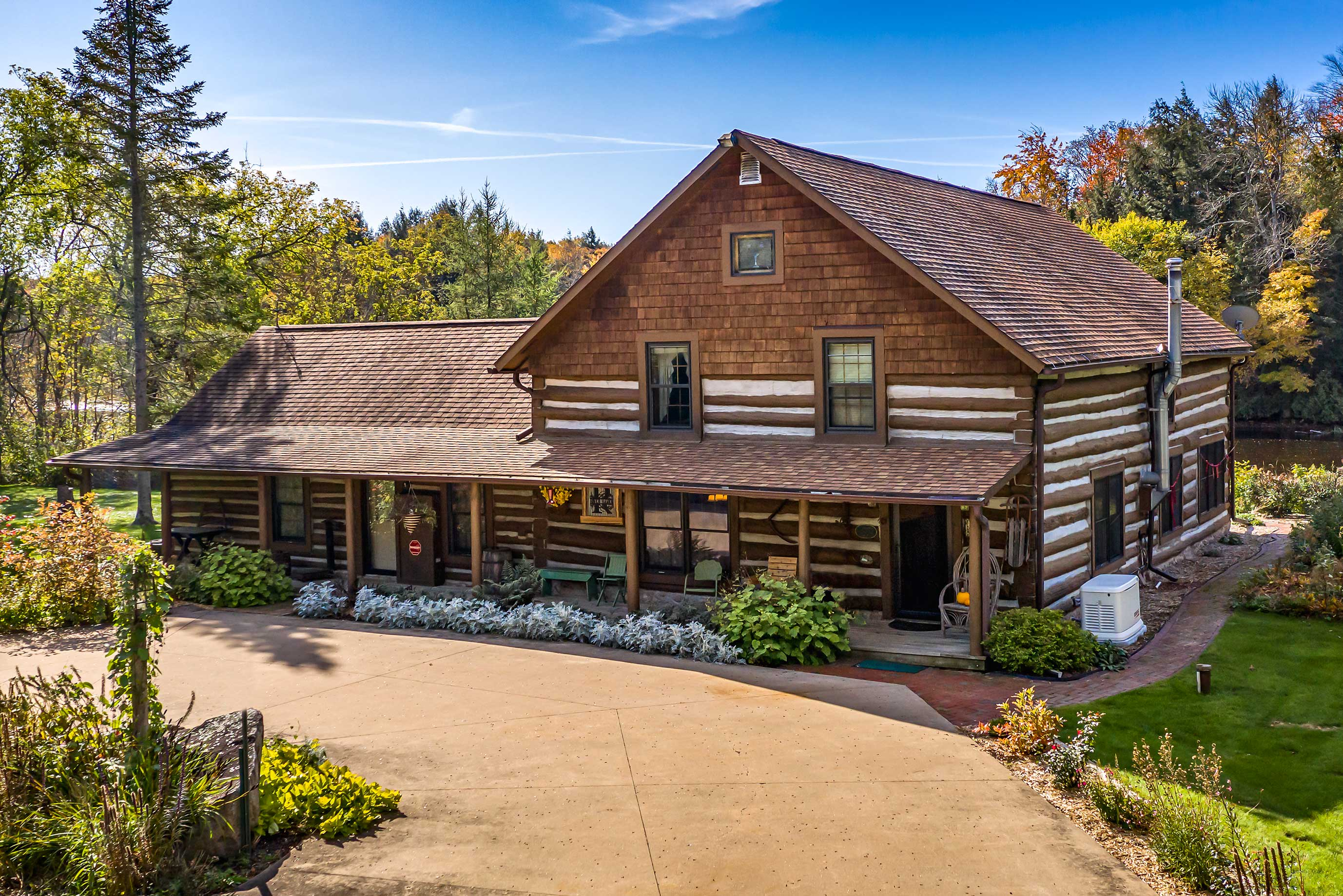 This rustic-yet-luxury home is sure to blow you away!