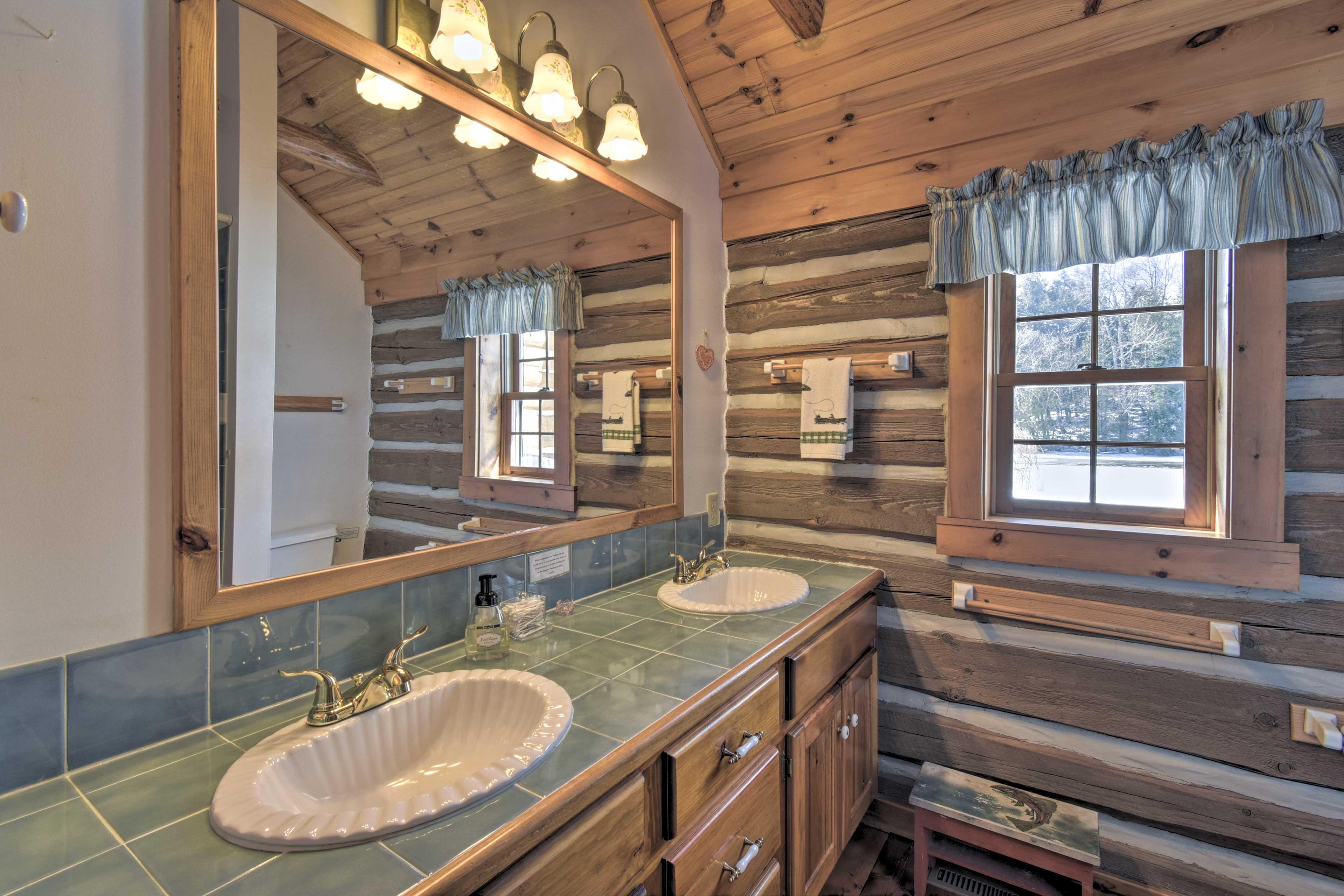 Bathroom 2: double vanity