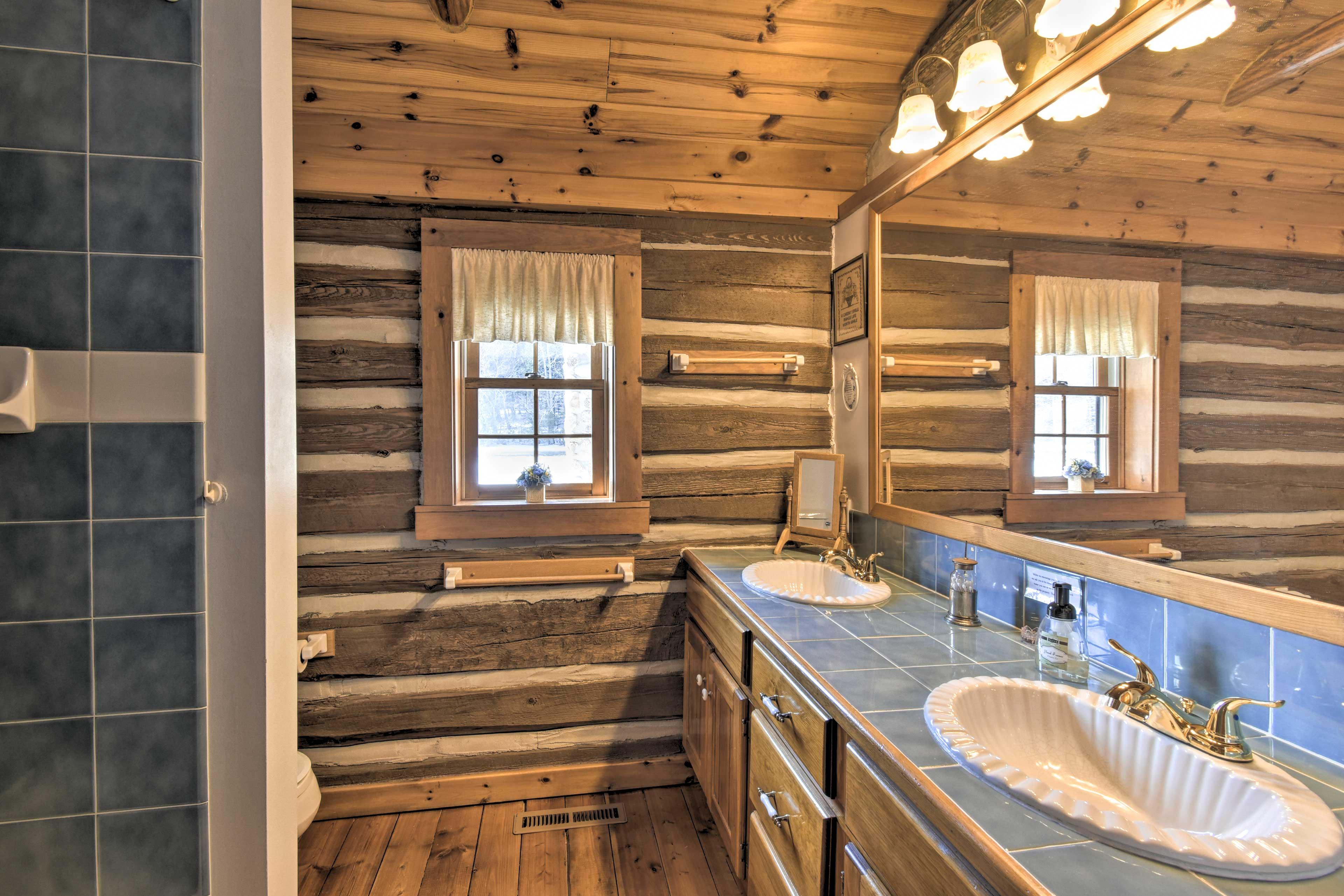 Bathroom 1: double vanity