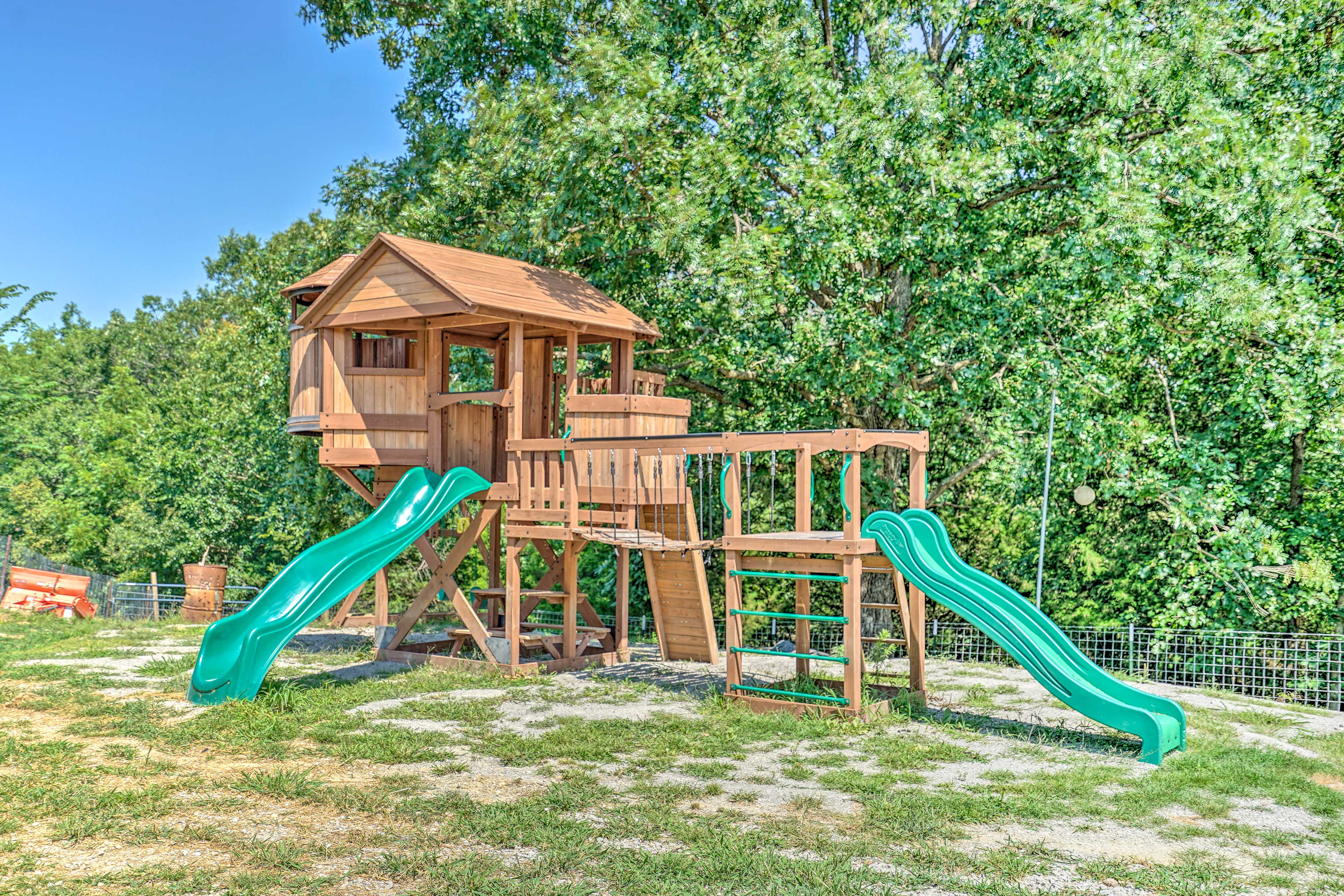 The property is great for families!
