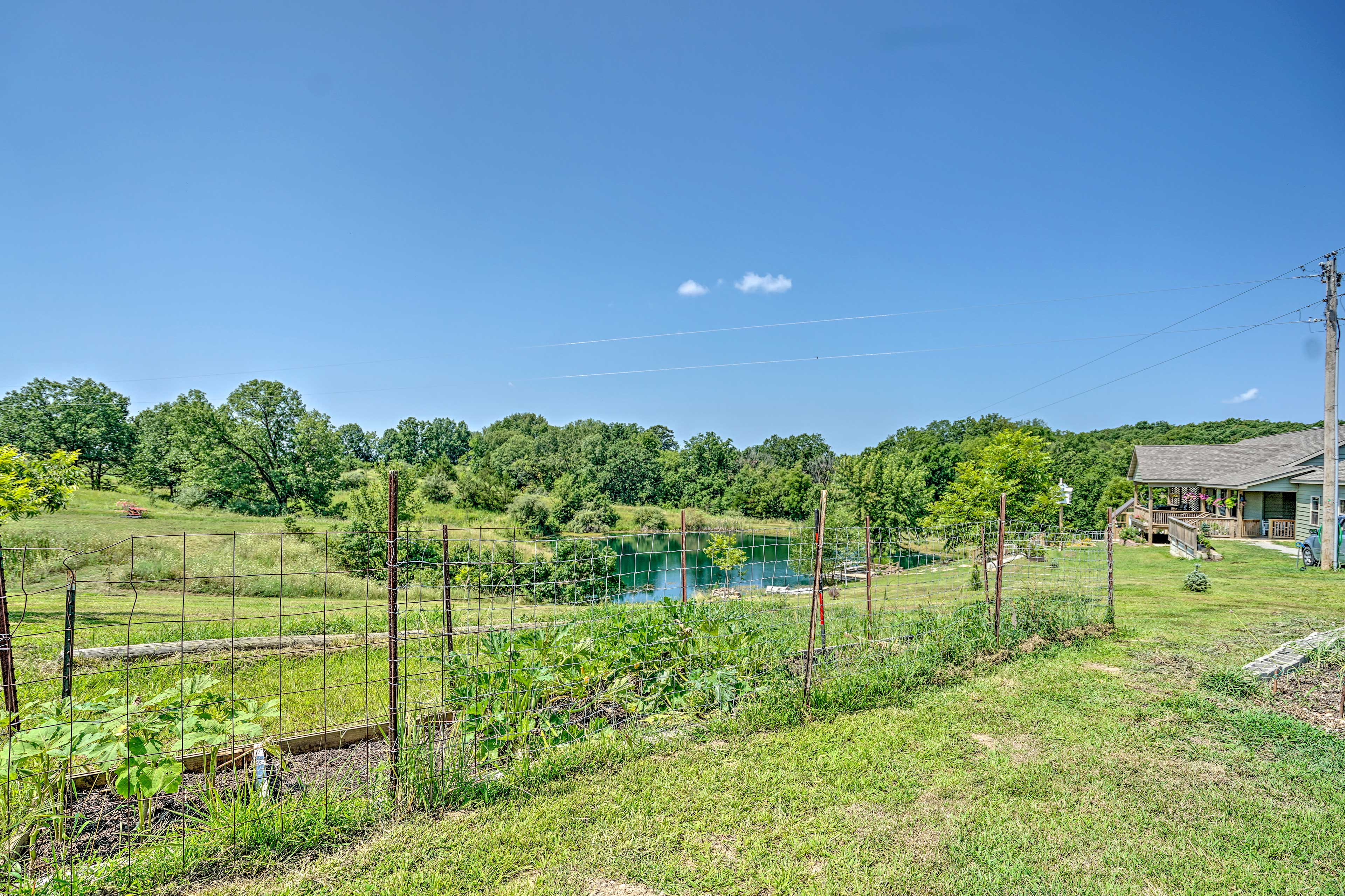 Bucolic dreams become a reality at this working farm.