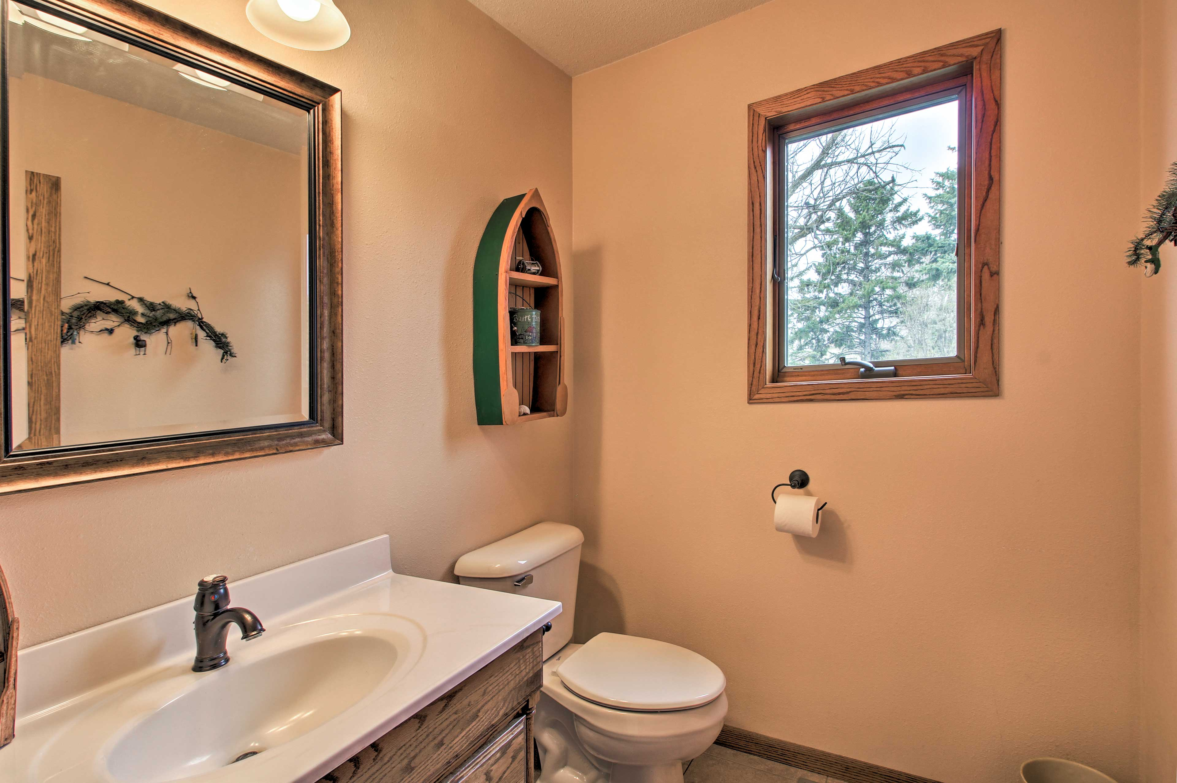 The house features 2.5 bathrooms.