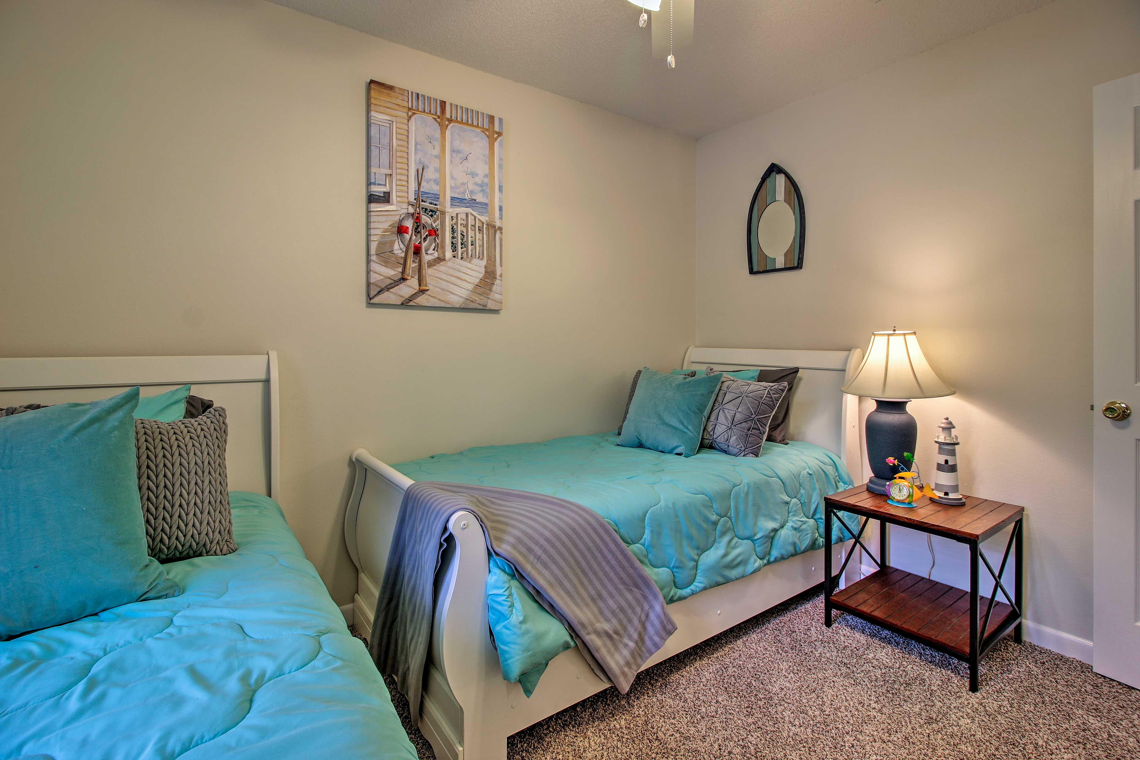 Your little ones will love this bedroom.