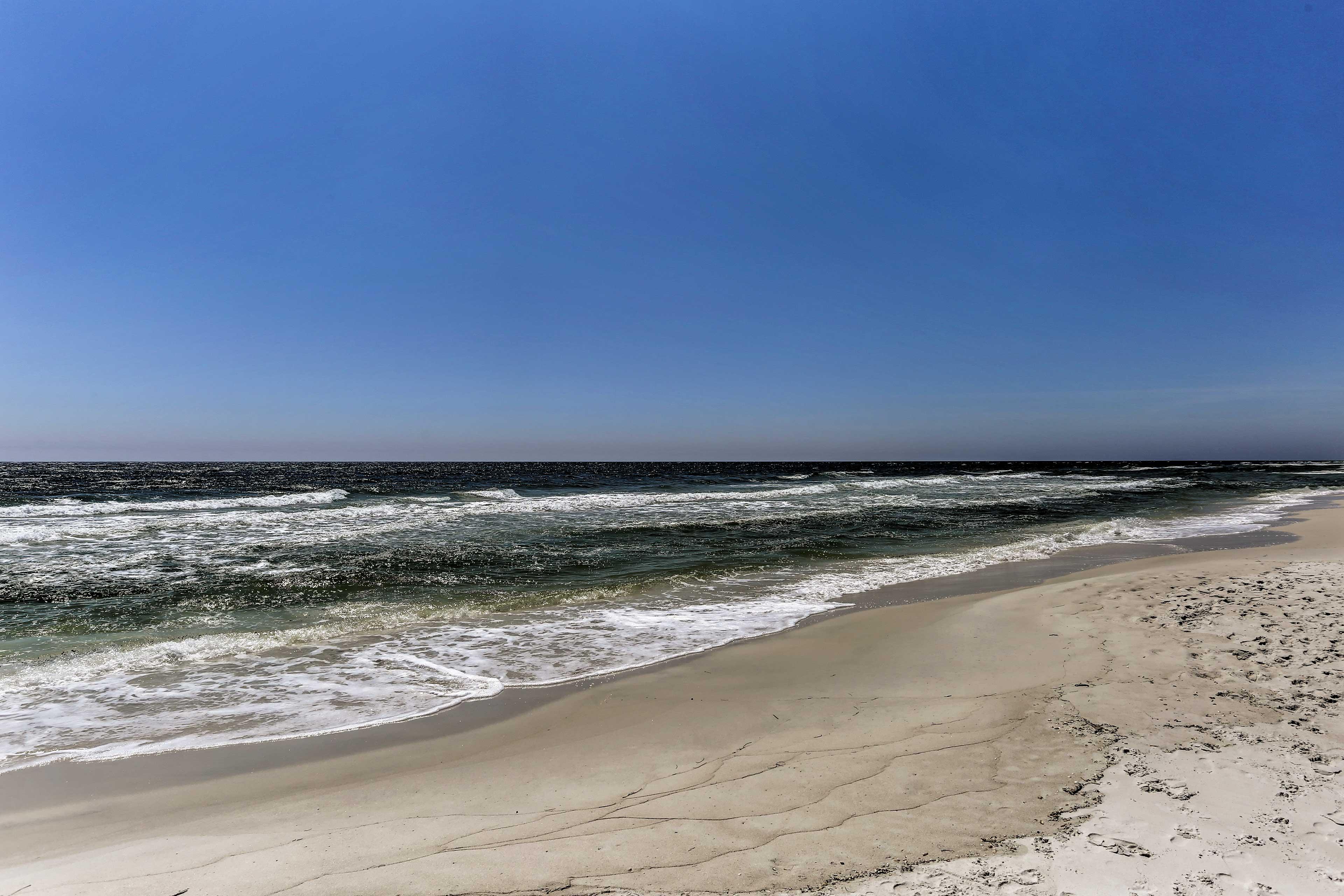 Look forward to idyllic seaside afternoons.
