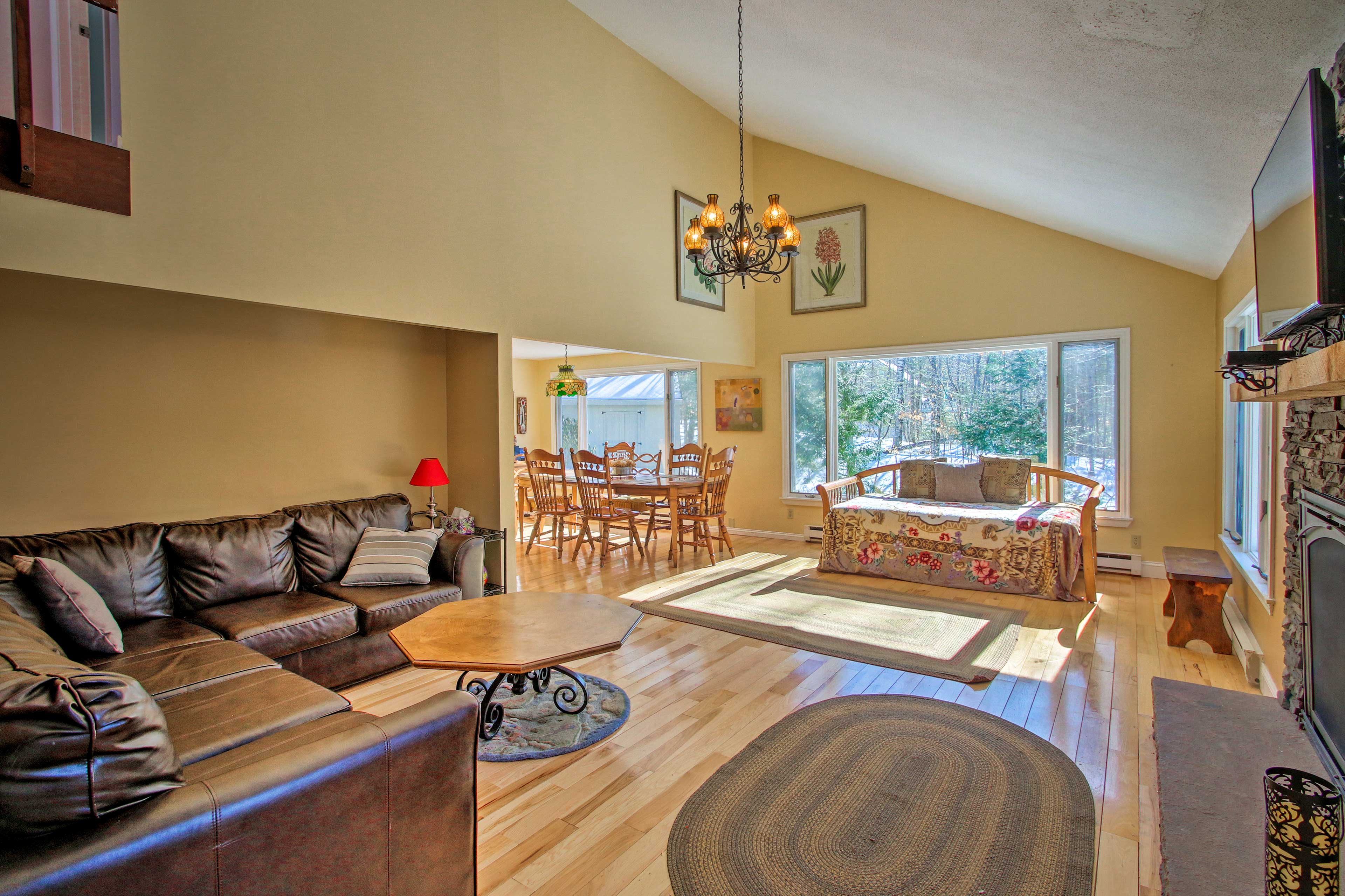 Make yourself at home inside this Campton vacation rental home!