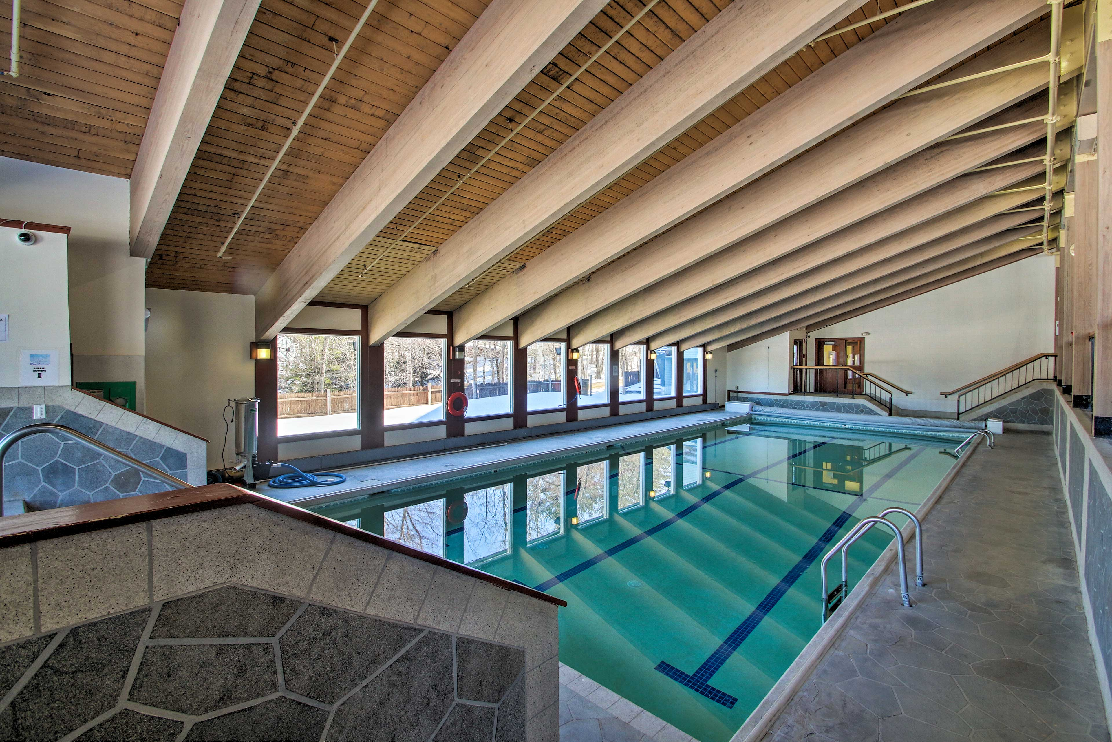 Take a dip in one of the 4 pools, or opt for a spot in one of the 3 spas.