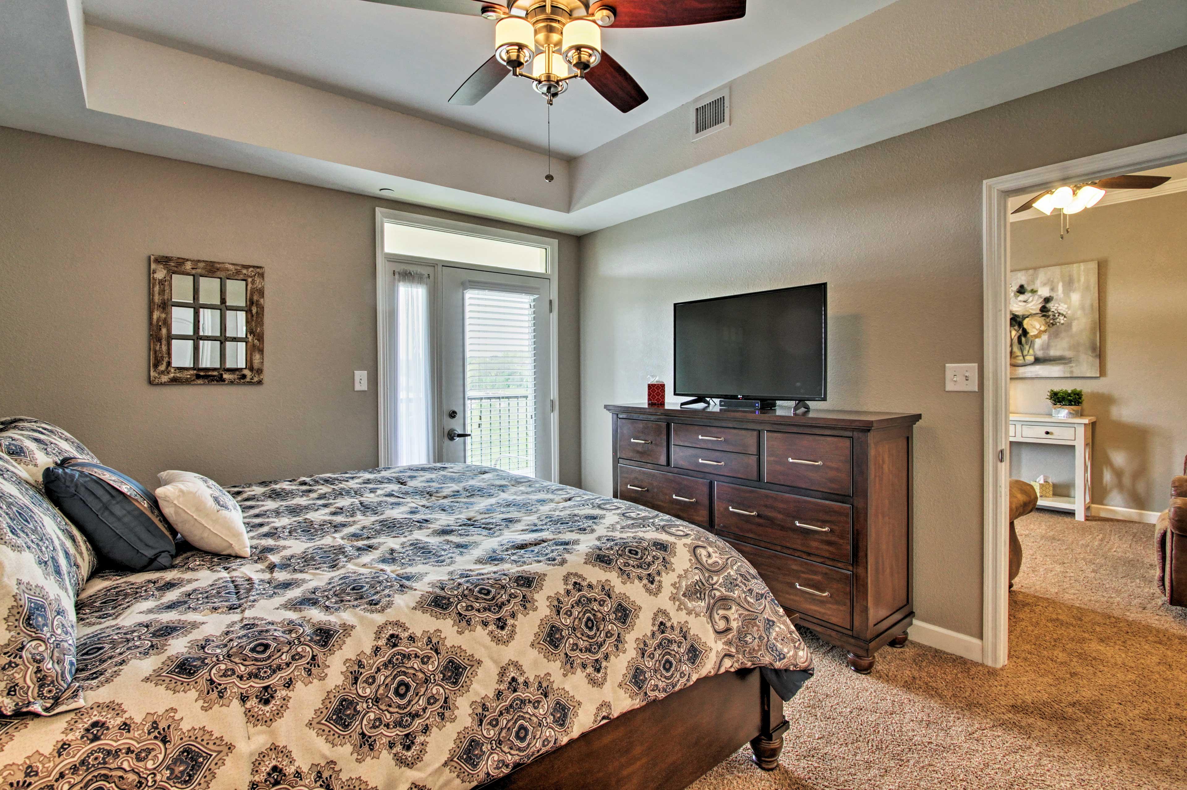 Bedroom 1 | Private Balcony Access