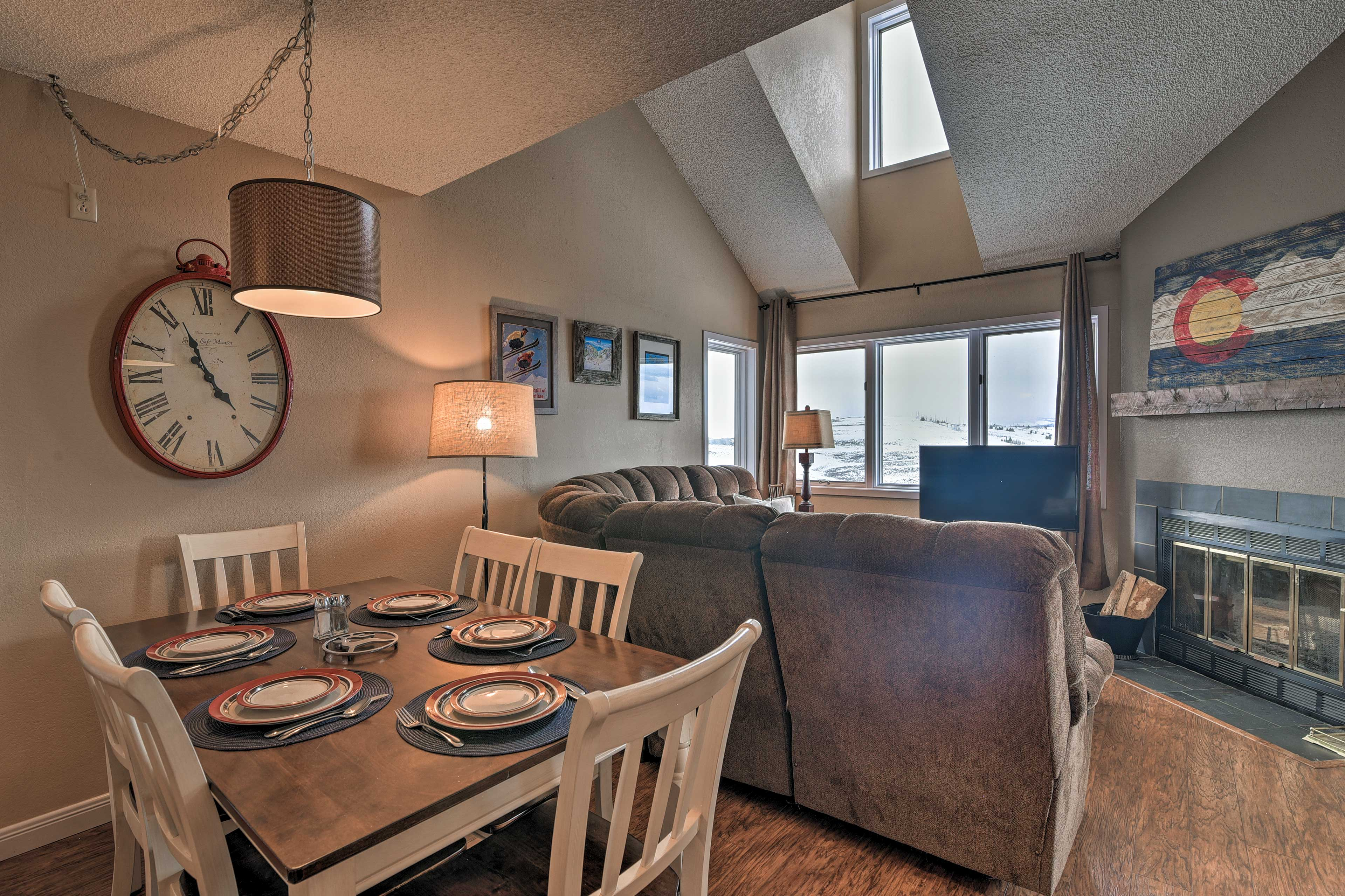 This well-appointed unit features 3 bedrooms and 2 full baths.