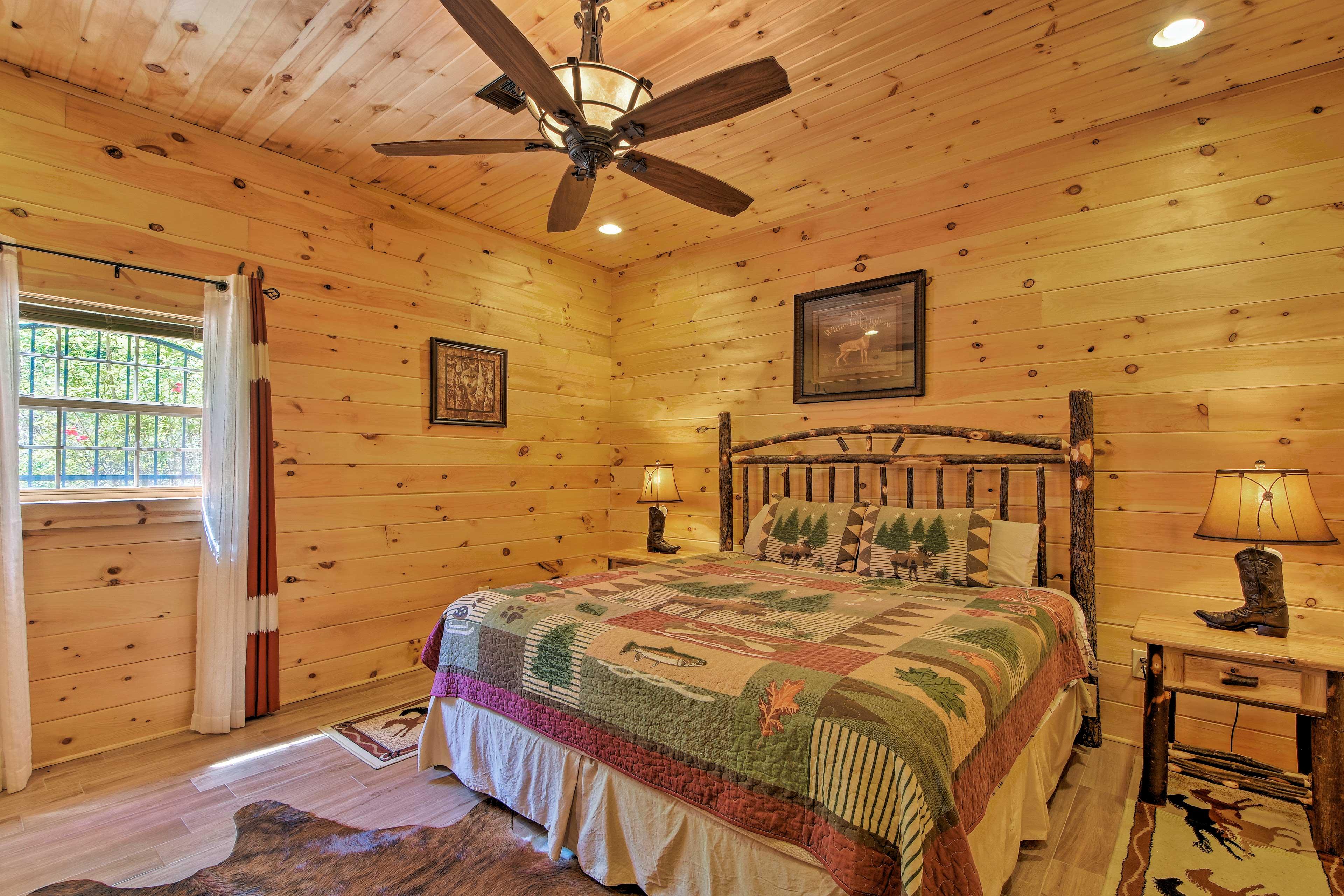 Bedroom 5   King Bed