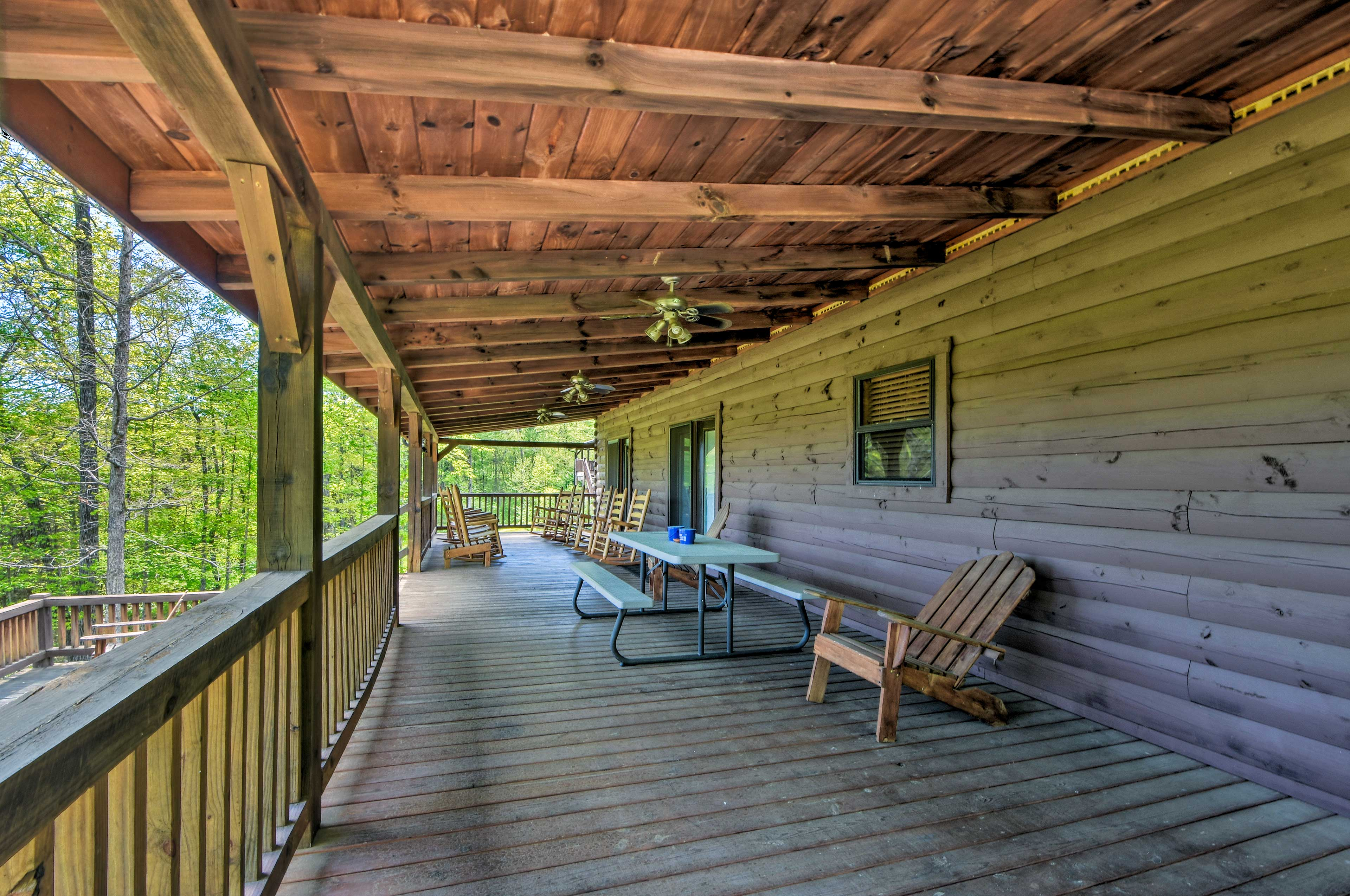 Covered Deck   Ceiling Fans
