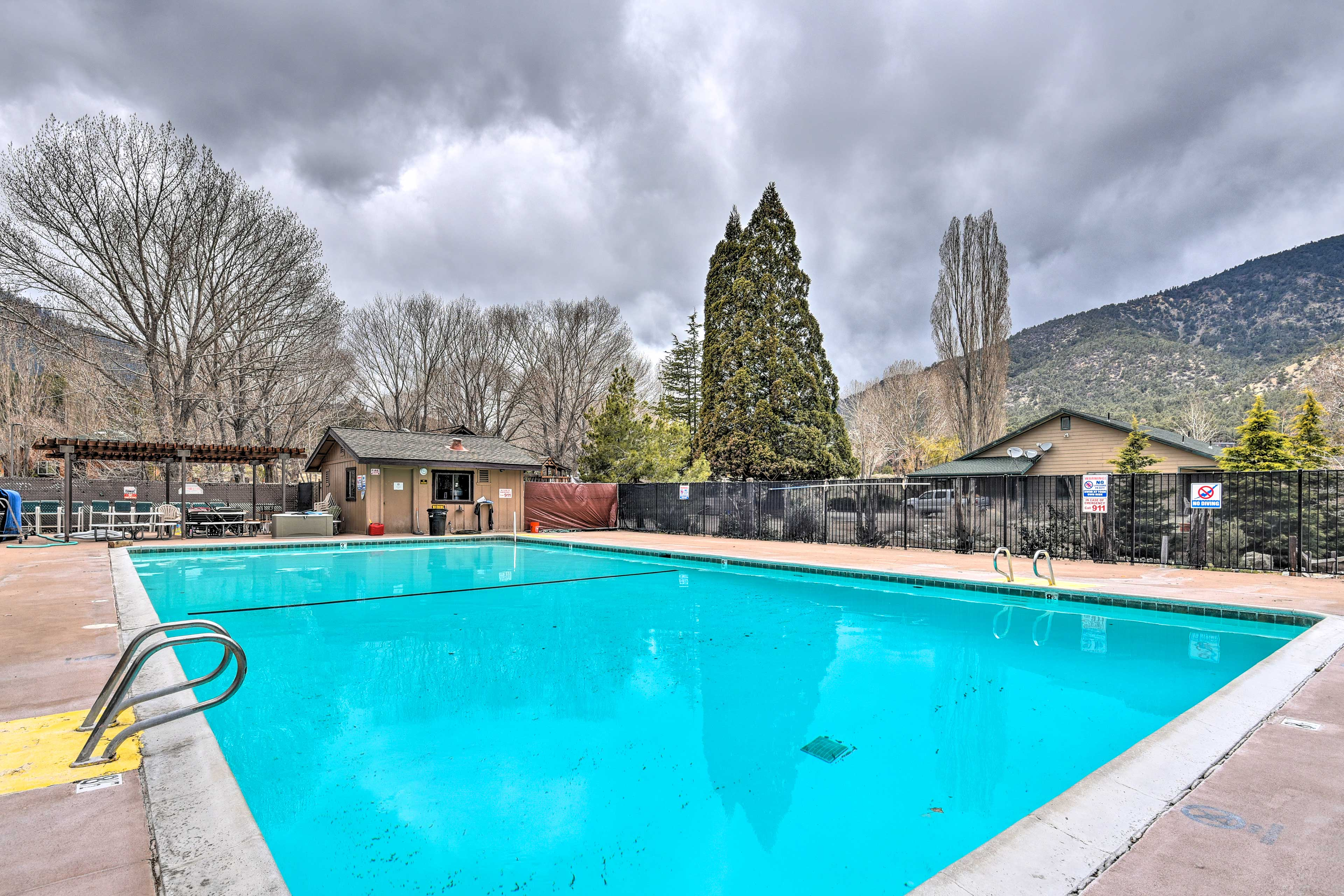 Make a splash at the community pool.