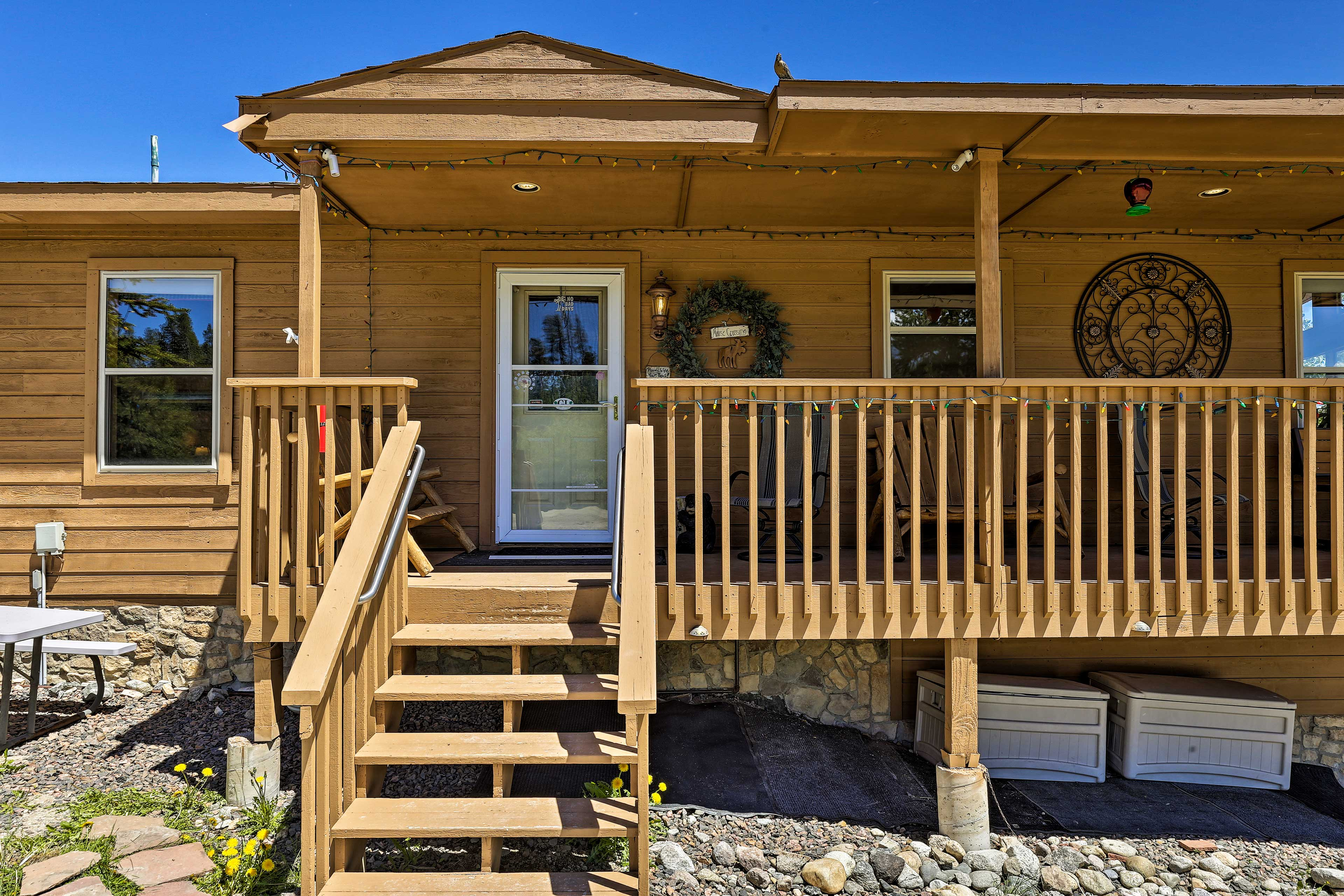 Make yourself at home at this 3-bedroom, 2-bath vacation rental!