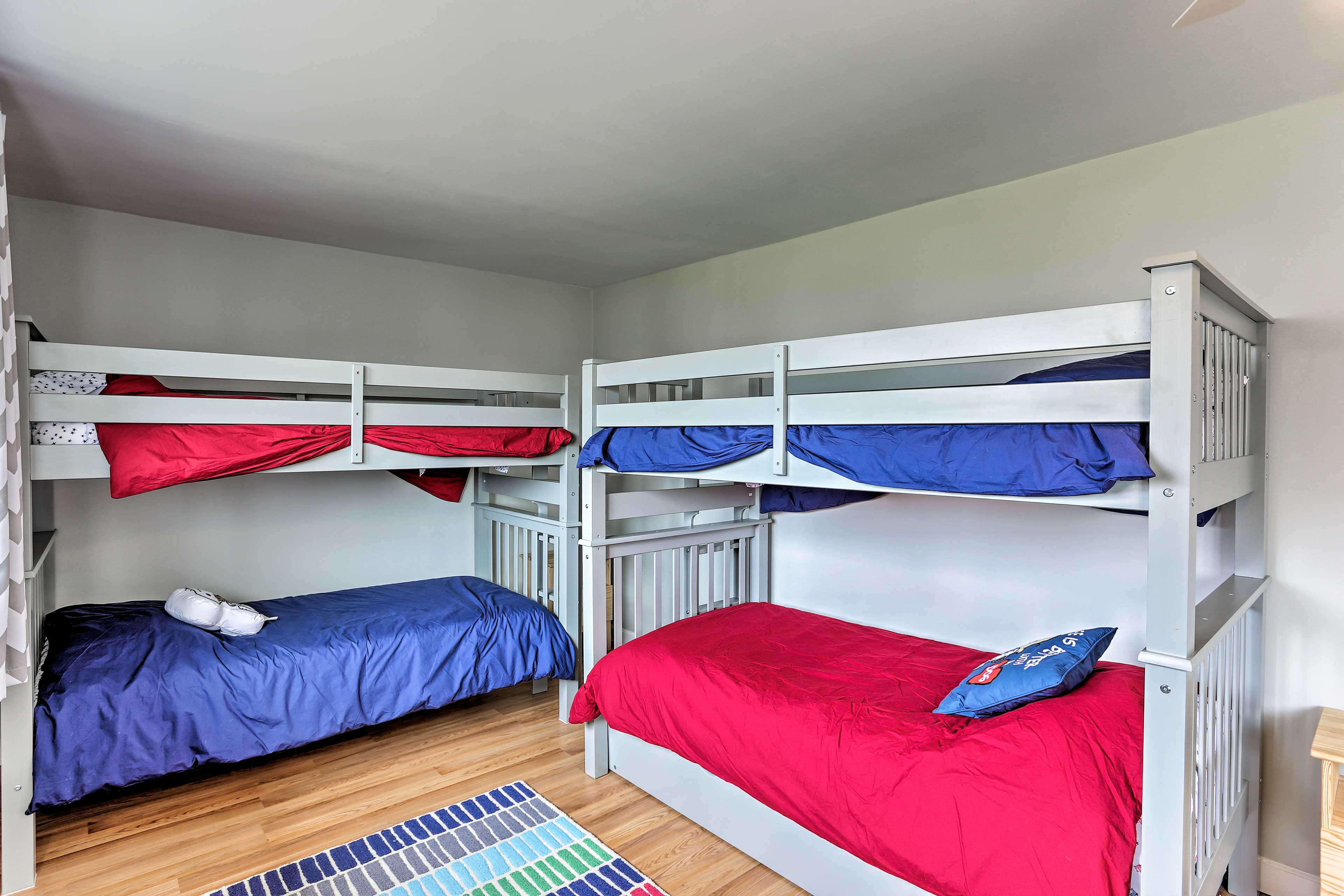 This home is perfect for families traveling with kids.