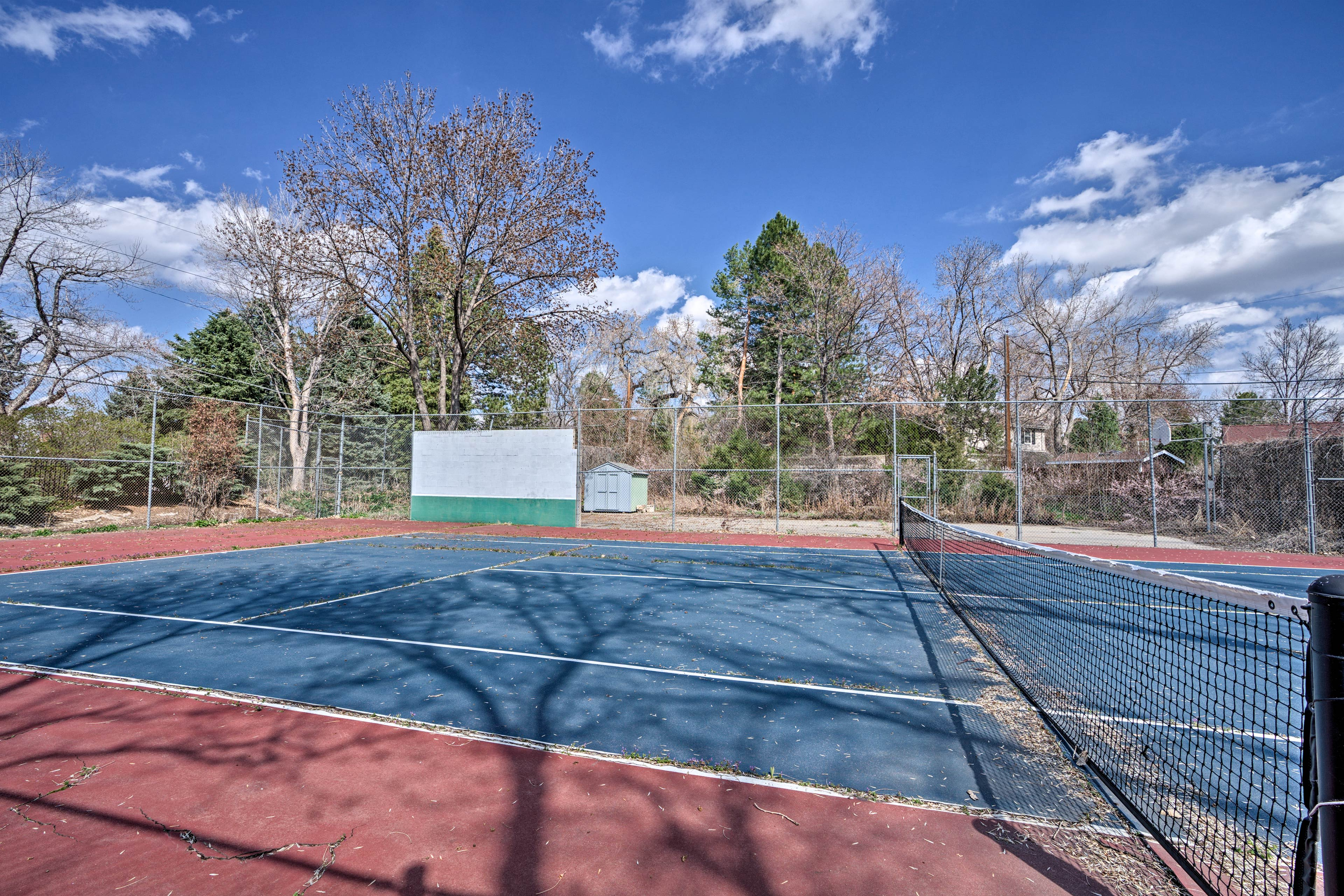Who's up for an afternoon round of tennis?