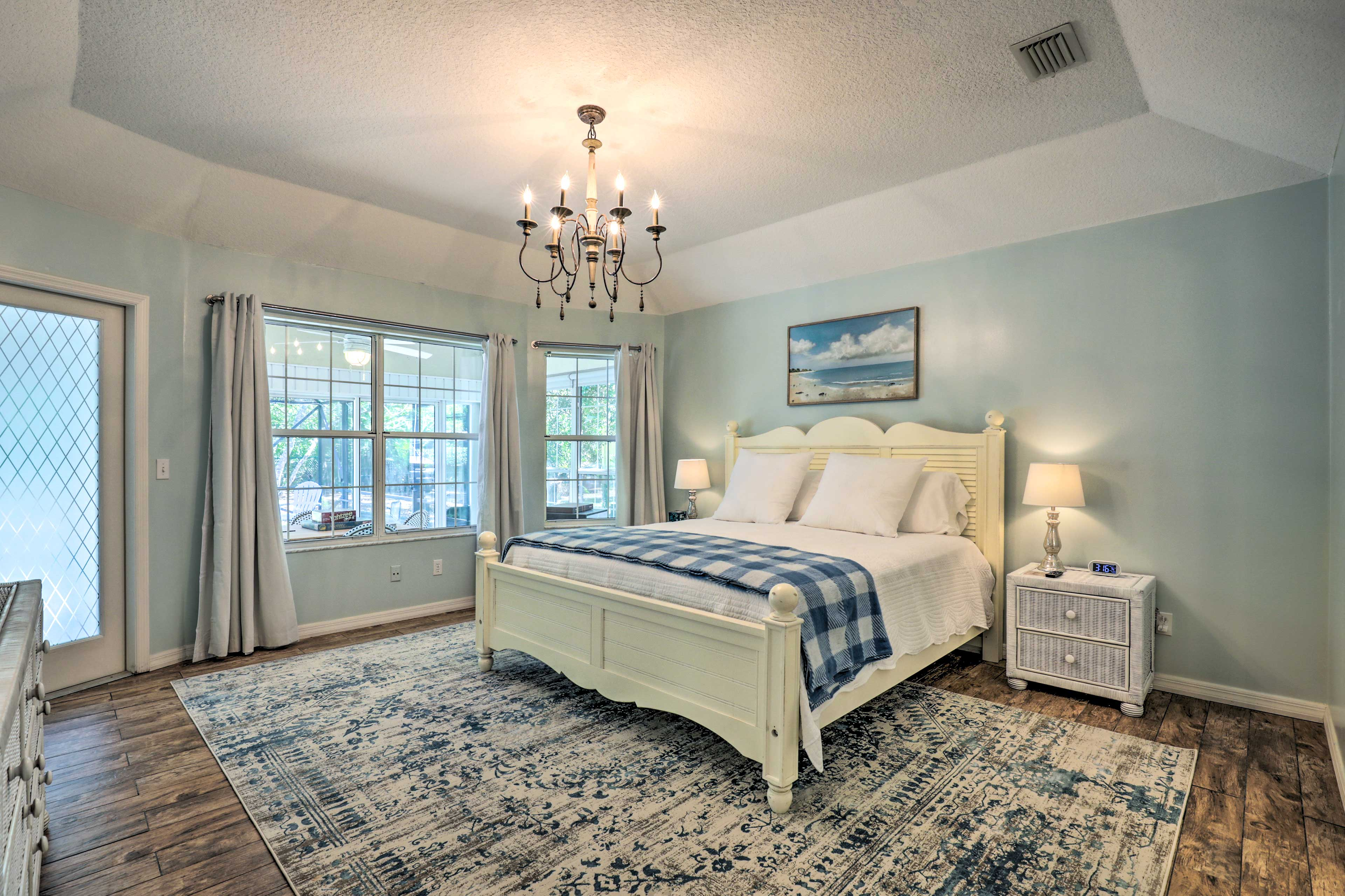 The master bedroom is calling your name!