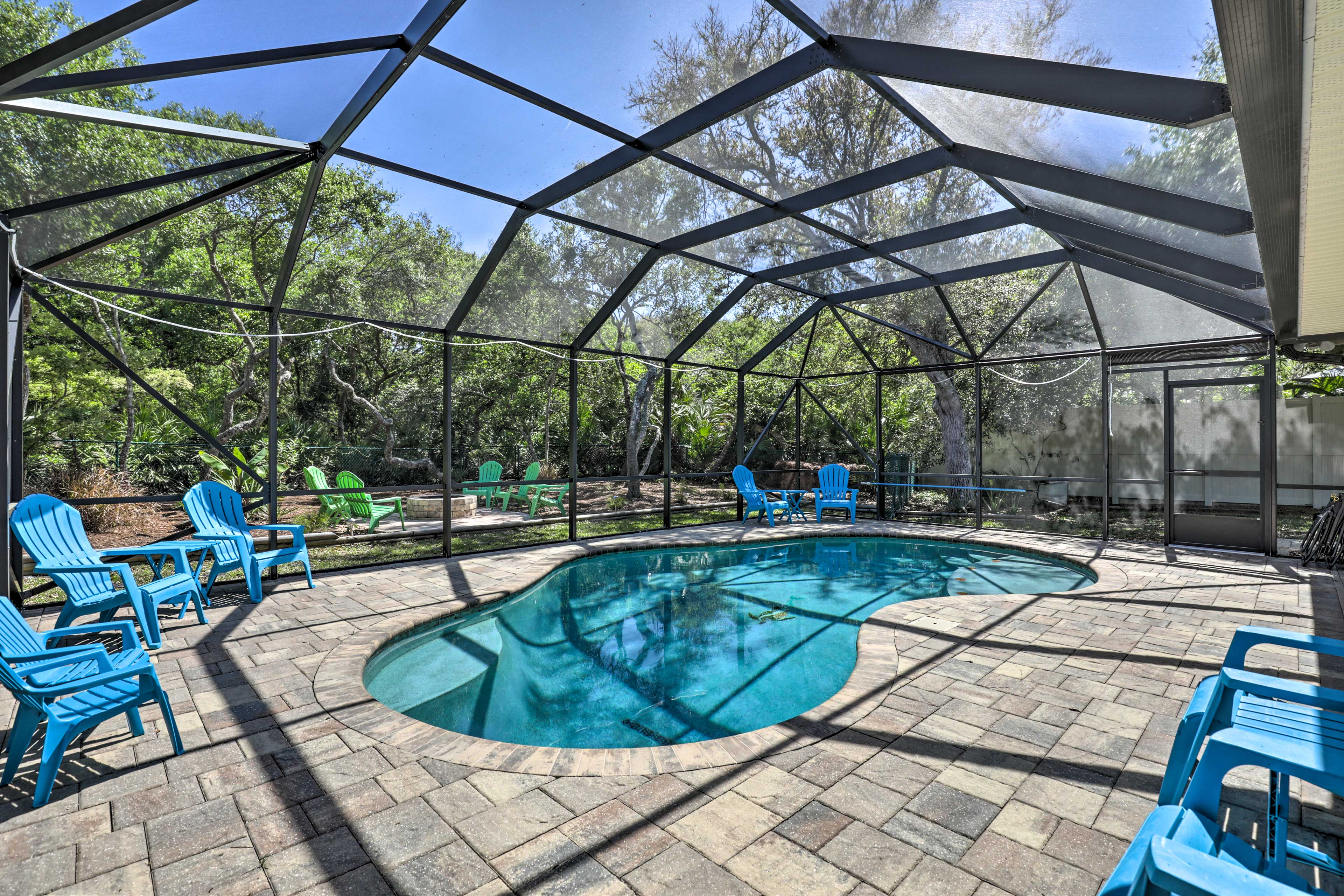 Soak up some sun on the pool deck.