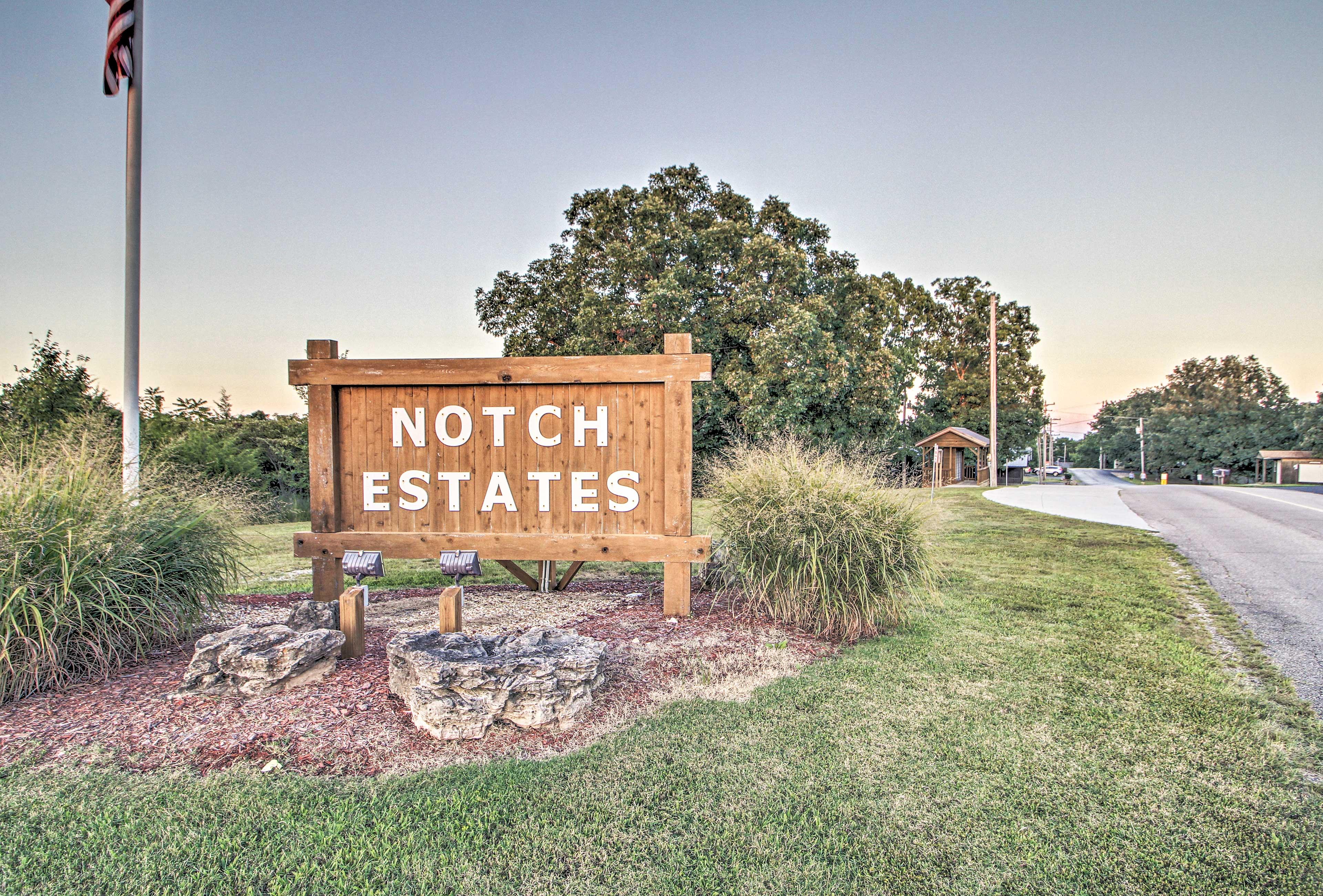 Notch Estates is sure to impress!